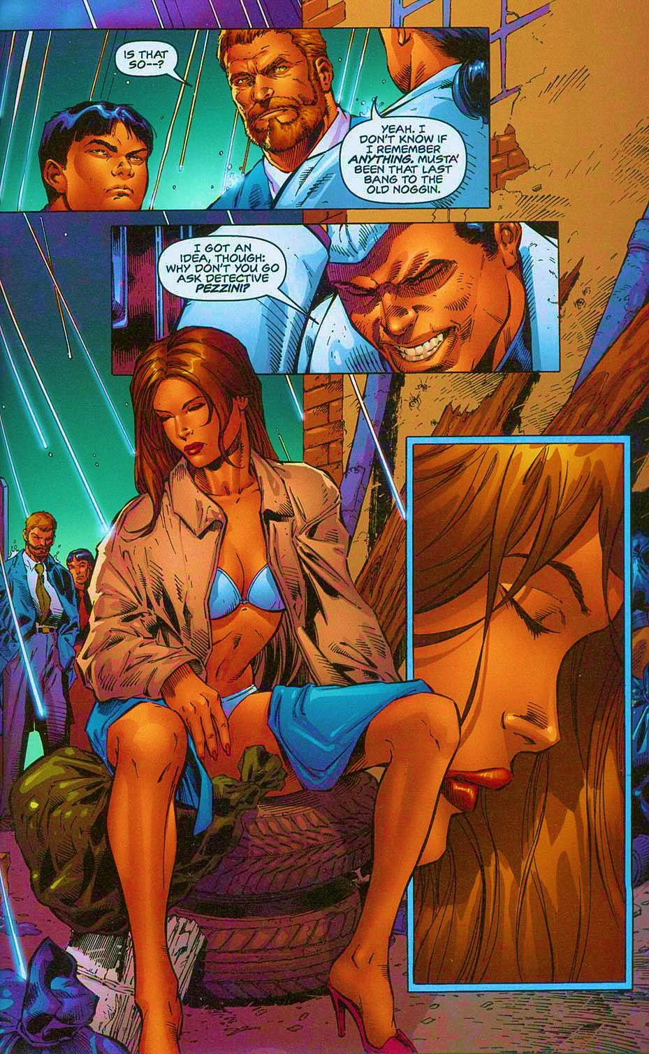 Read online Overkill: Witchblade/Aliens/Darkness/Predator comic -  Issue #2 - 7