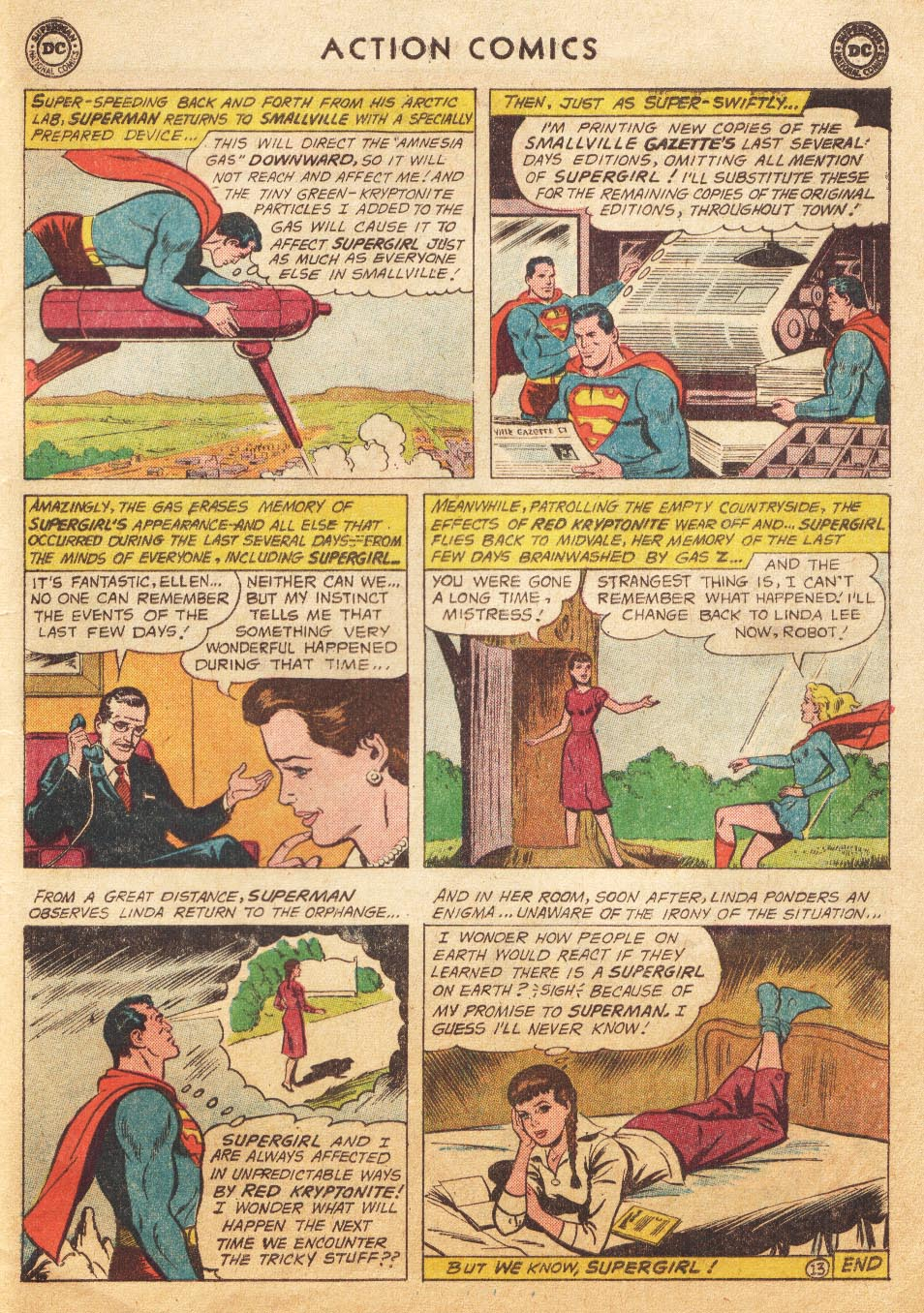 Read online Action Comics (1938) comic -  Issue #265 - 31