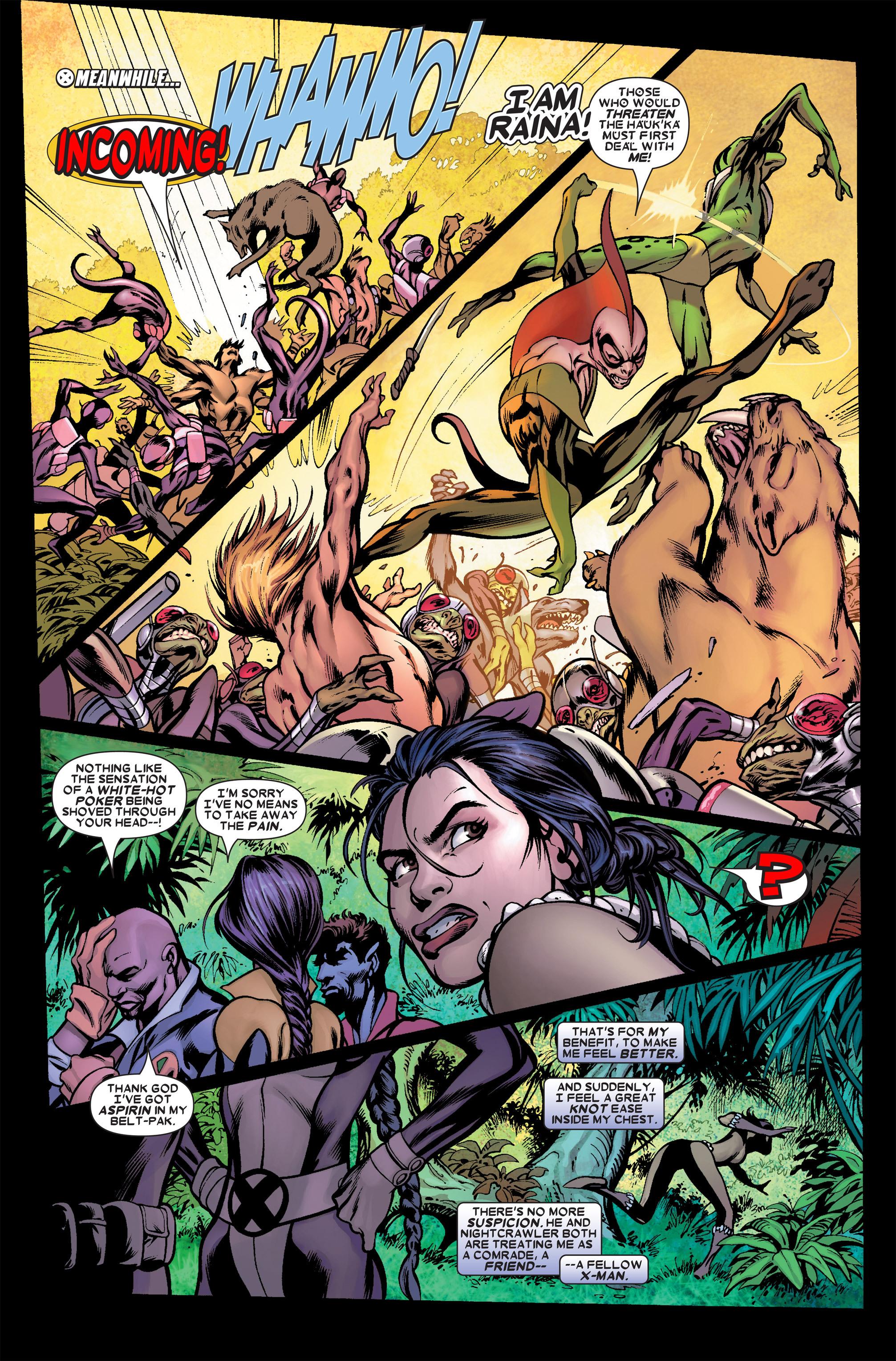 Read online Uncanny X-Men (1963) comic -  Issue #458 - 10