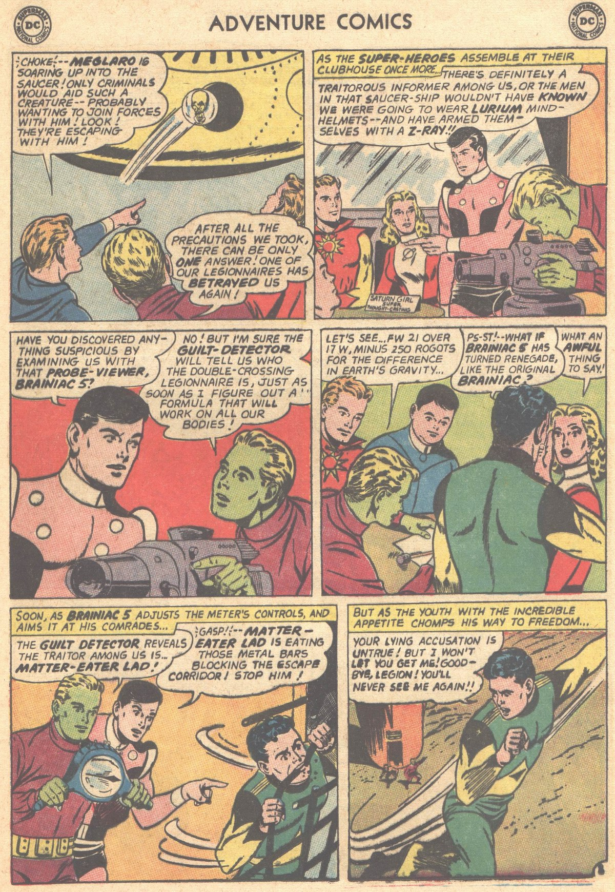 Read online Adventure Comics (1938) comic -  Issue #303 - 28
