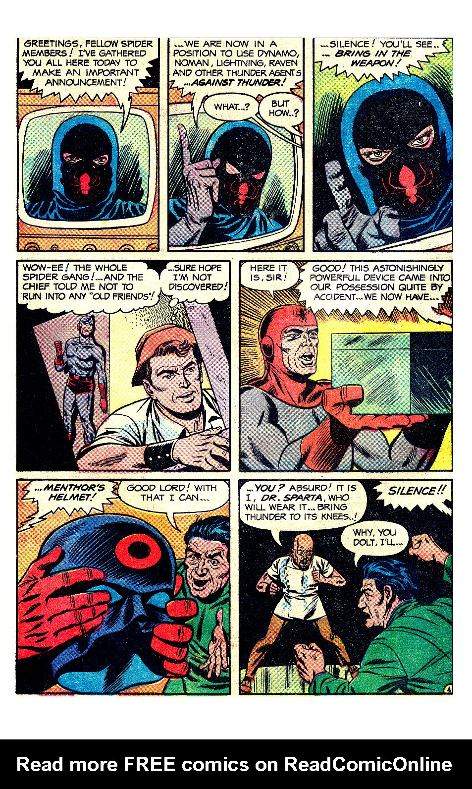 T.H.U.N.D.E.R. Agents (1965) issue 17 - Page 39