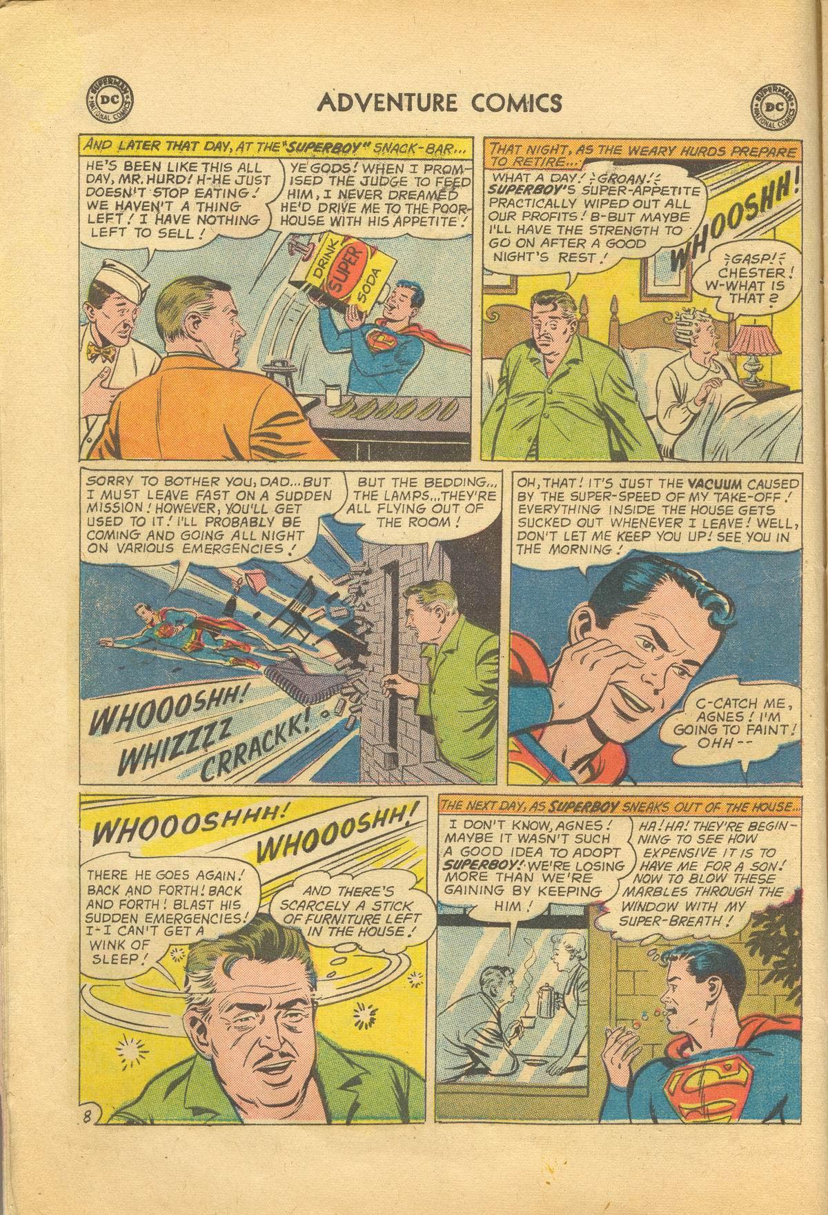 Read online Adventure Comics (1938) comic -  Issue #281 - 10