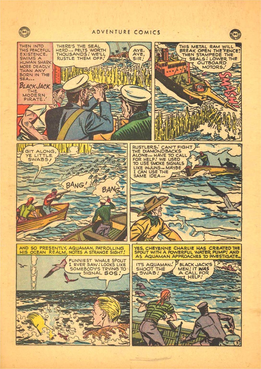 Read online Adventure Comics (1938) comic -  Issue #148 - 17