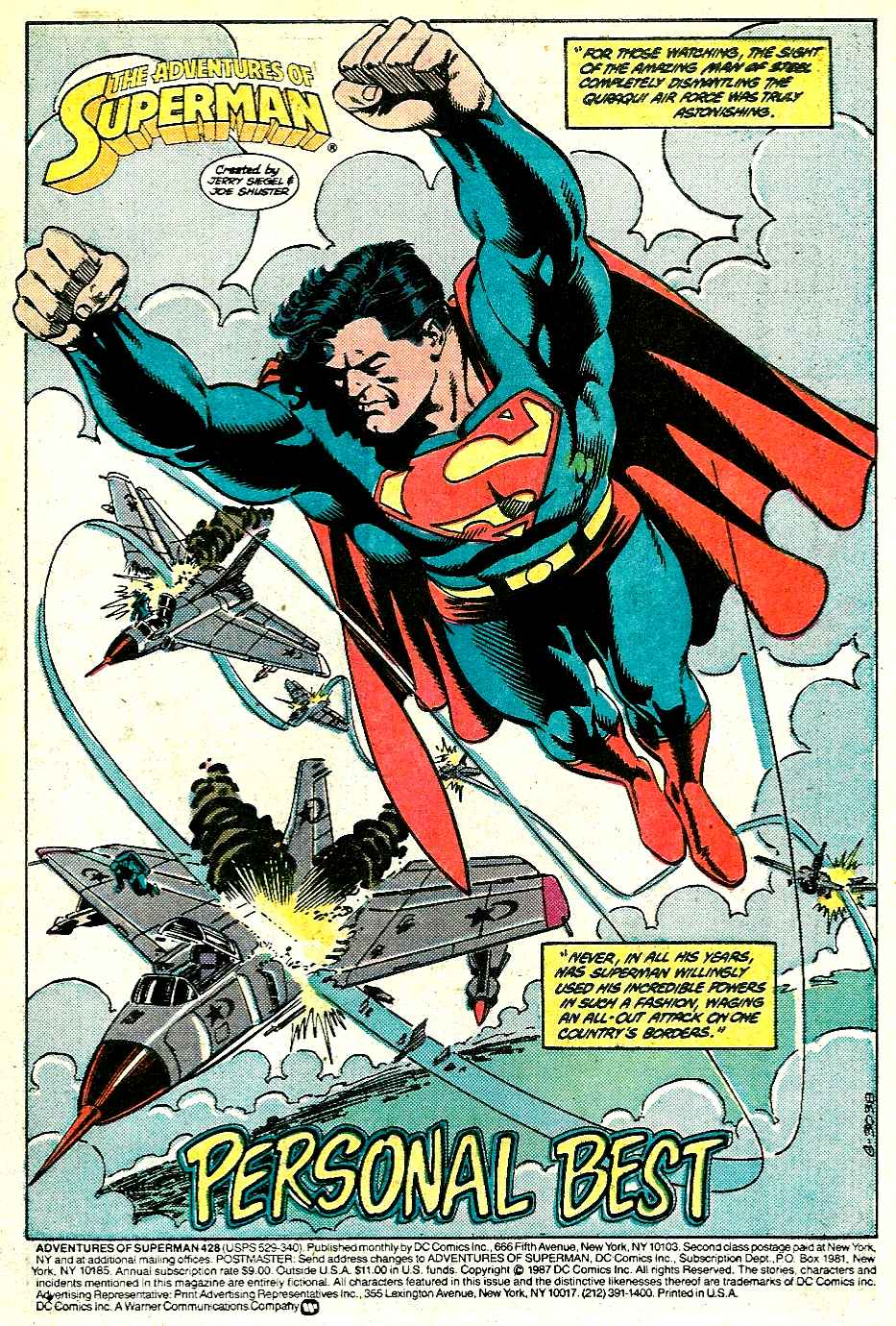 Read online Adventures of Superman (1987) comic -  Issue #428 - 2
