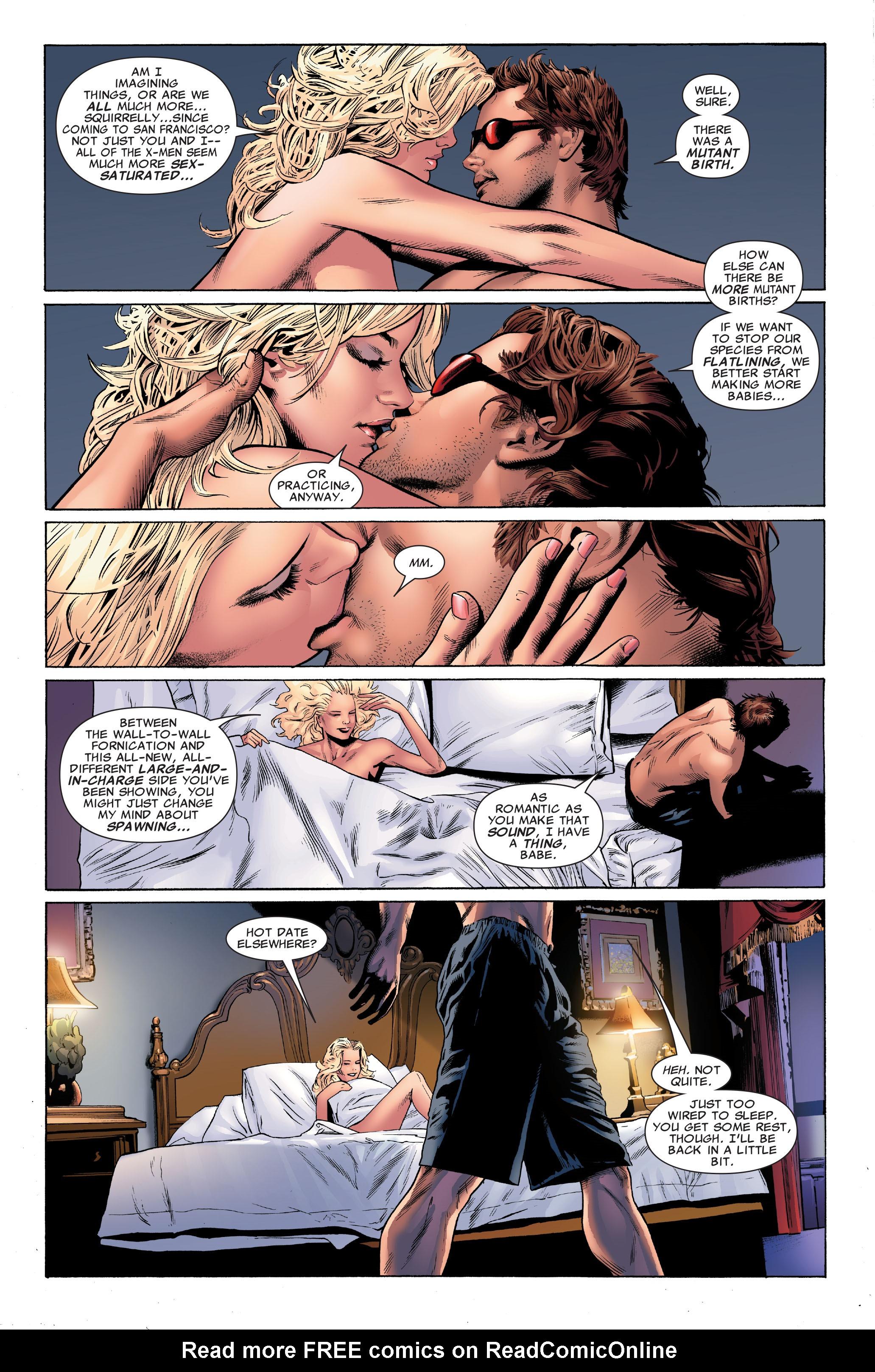 Read online Uncanny X-Men (1963) comic -  Issue #501 - 8
