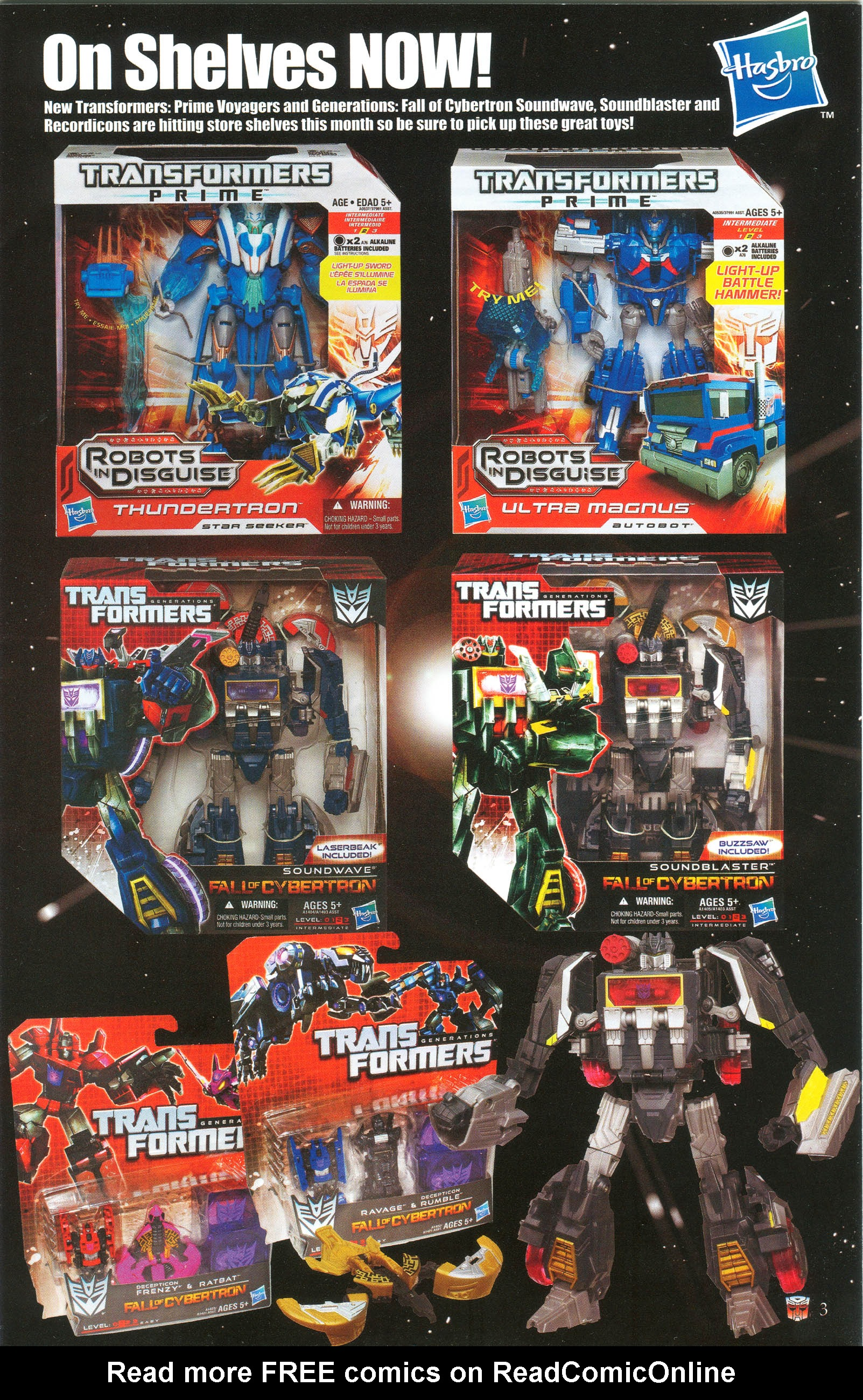 Read online Transformers: Collectors' Club comic -  Issue #48 - 3