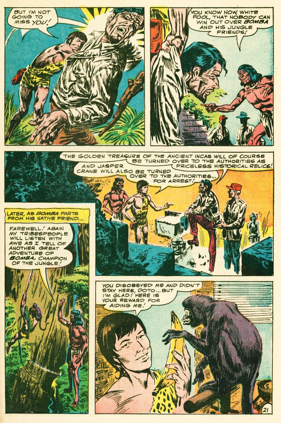 Bomba, The Jungle Boy issue 1 - Page 27
