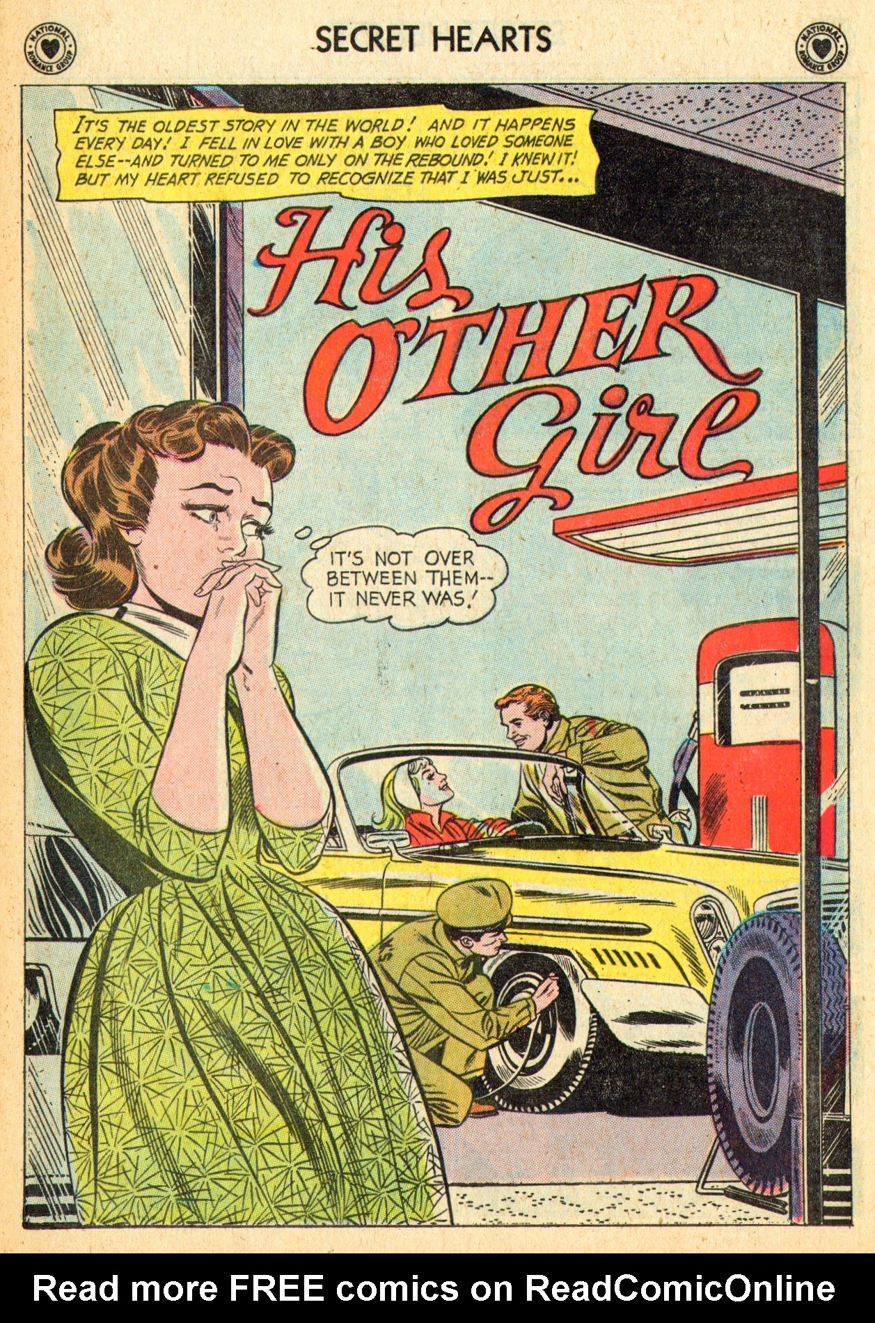 Read online Secret Hearts comic -  Issue #70 - 27