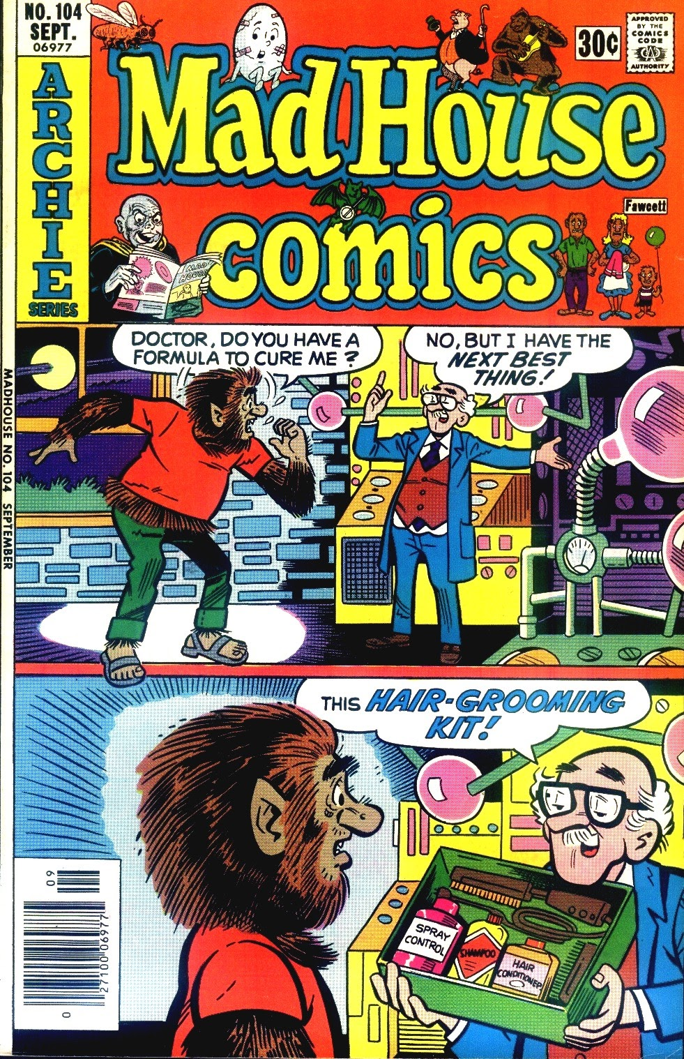 Read online Madhouse Comics comic -  Issue #104 - 1