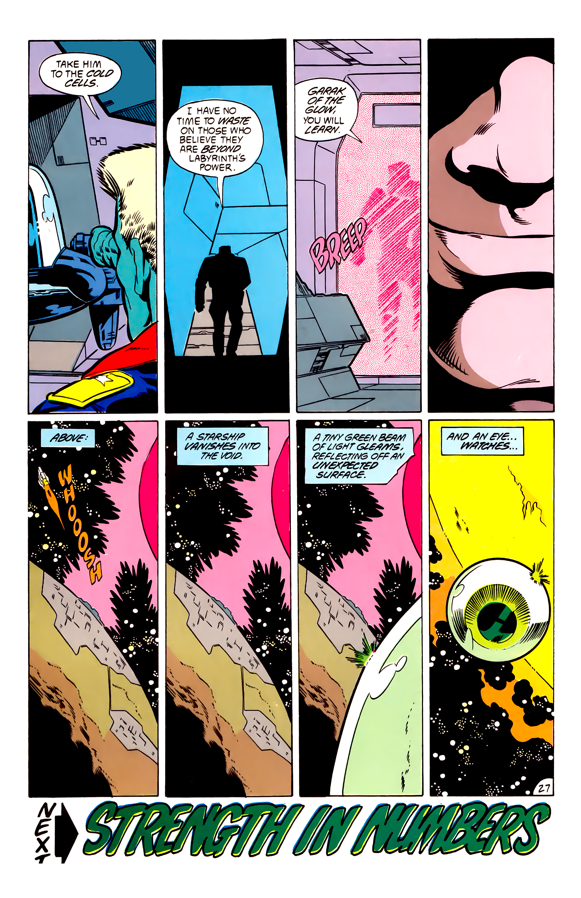 Legion of Super-Heroes (1984) 53 Page 27
