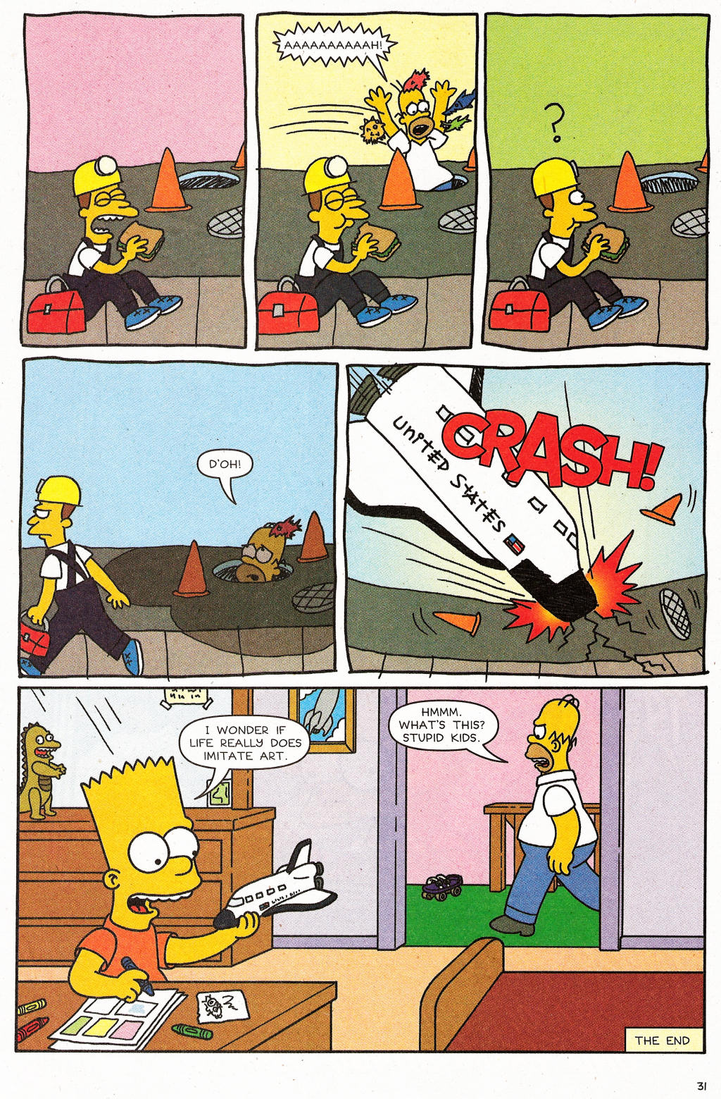 Read online Simpsons Comics comic -  Issue #124 - 26