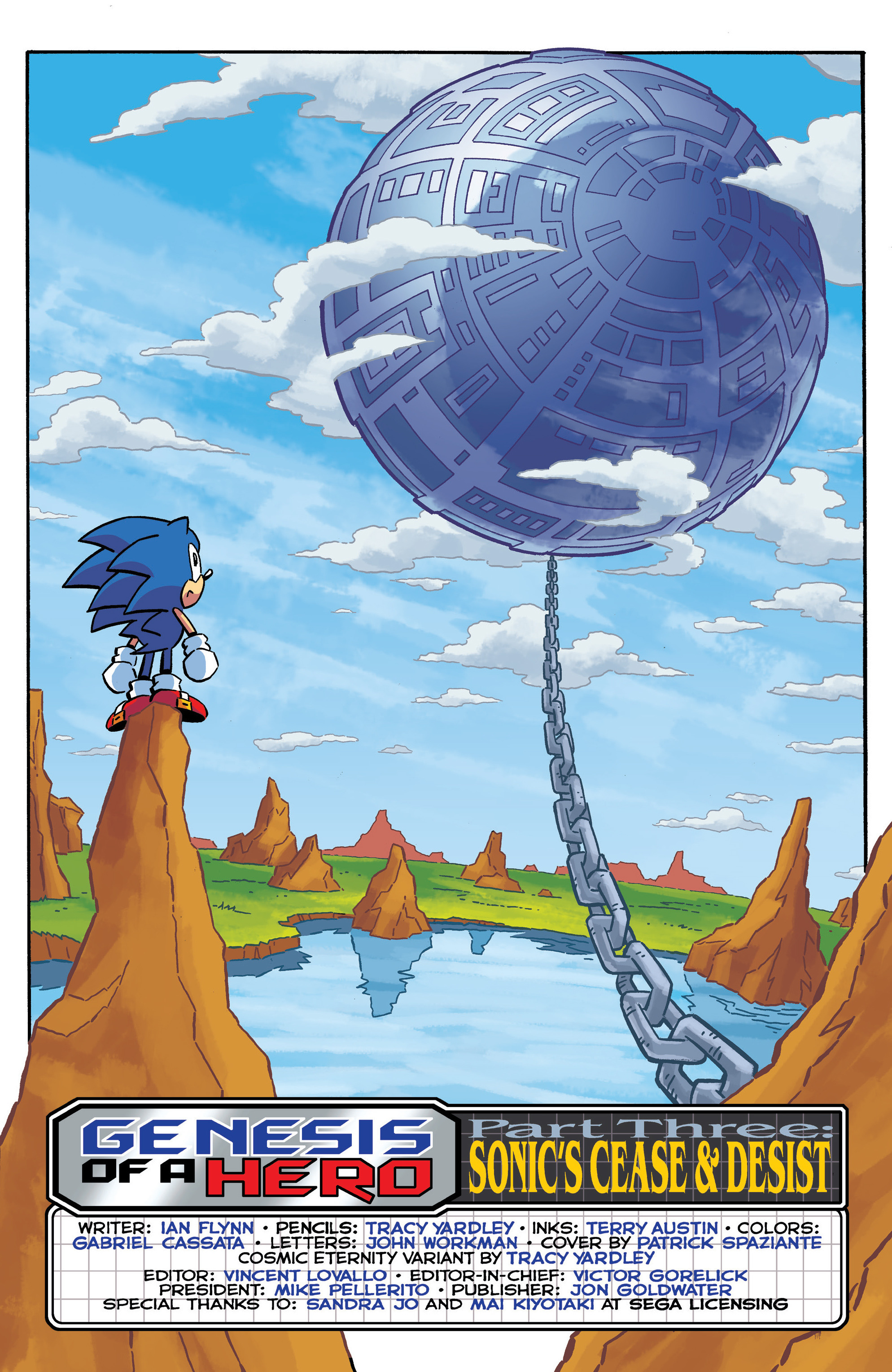 Read online Sonic The Hedgehog comic -  Issue #290 - 4