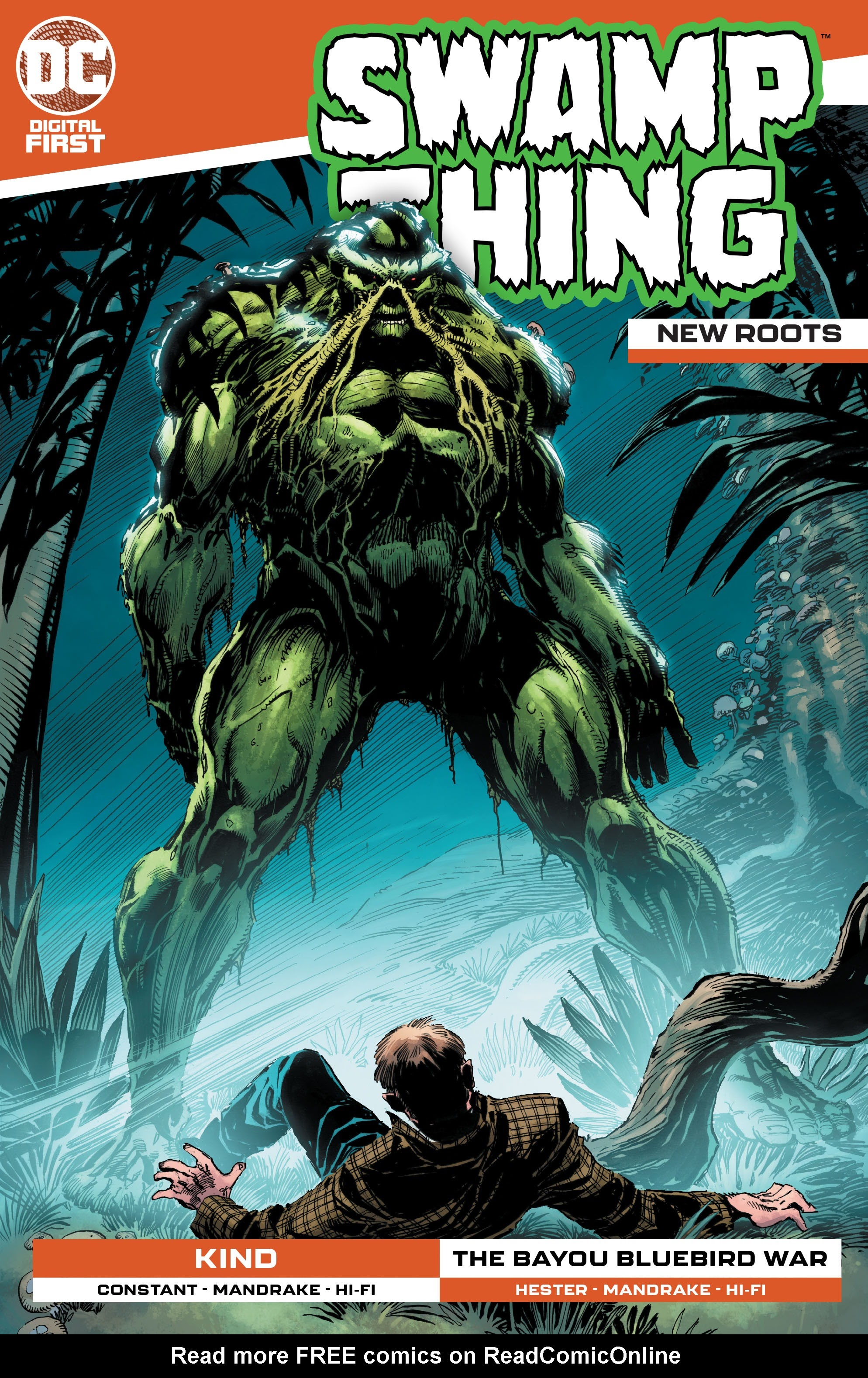 Swamp Thing: New Roots issue 9 - Page 1