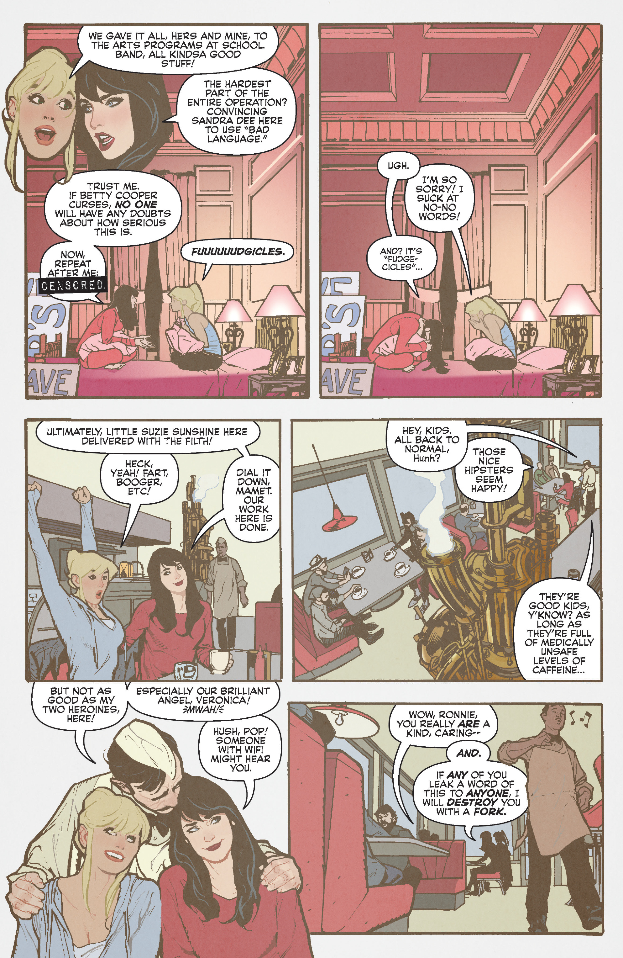 Read online Betty and Veronica (2016) comic -  Issue #3 - 21