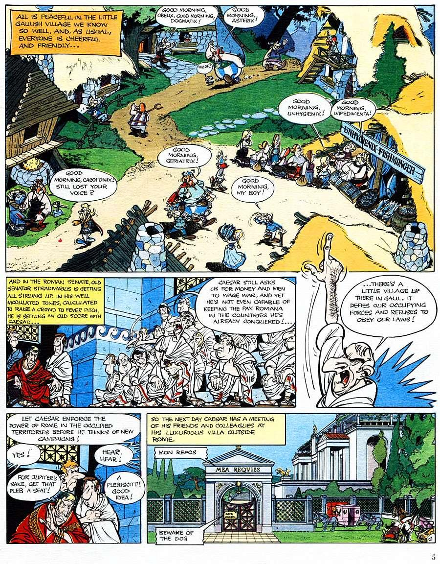 Read online Asterix comic -  Issue #15 - 6