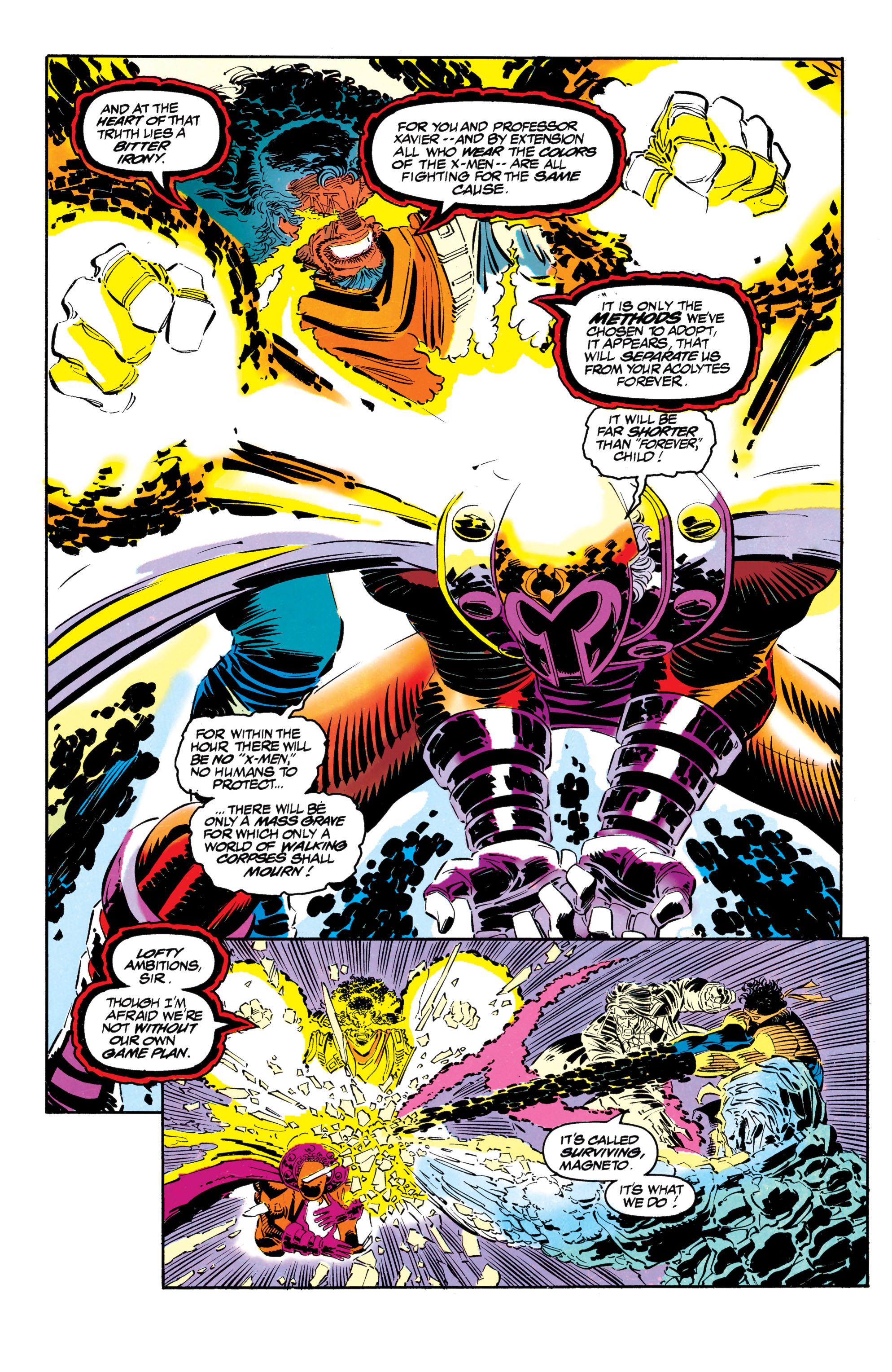 Read online Uncanny X-Men (1963) comic -  Issue #304 - 38