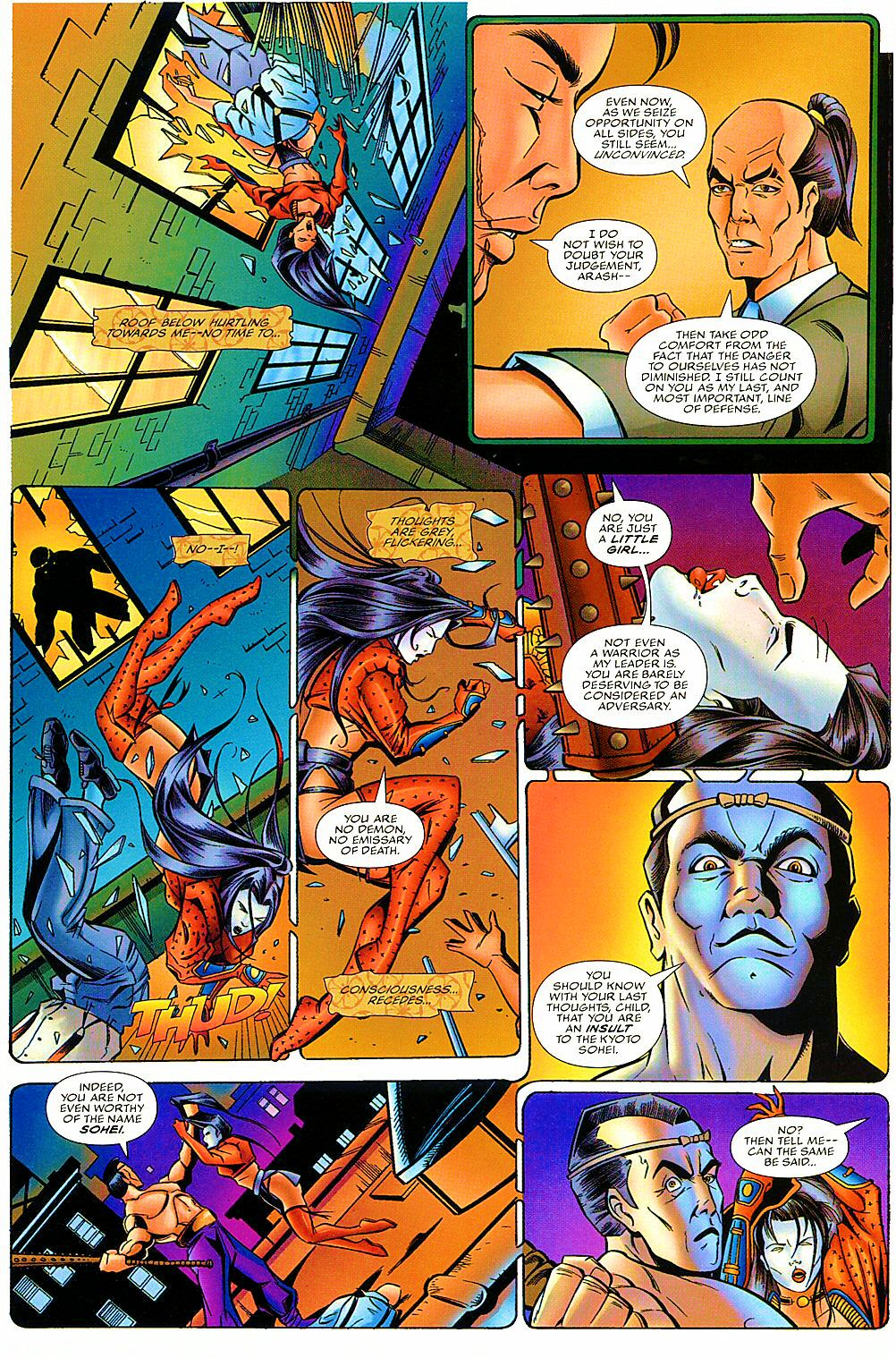 Read online Shi: The Way of the Warrior comic -  Issue #7 - 21