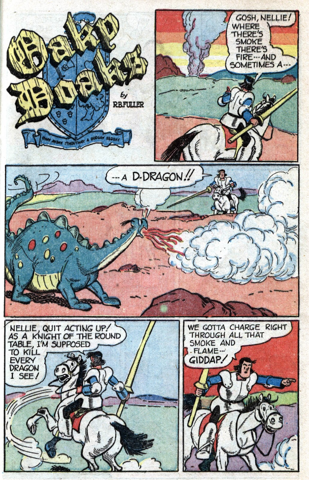 Read online Famous Funnies comic -  Issue #173 - 45