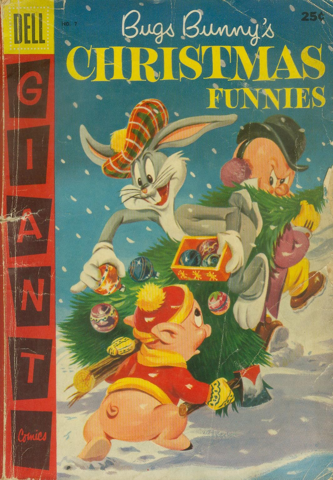 Bugs Bunny's Christmas Funnies issue TPB 7 - Page 1