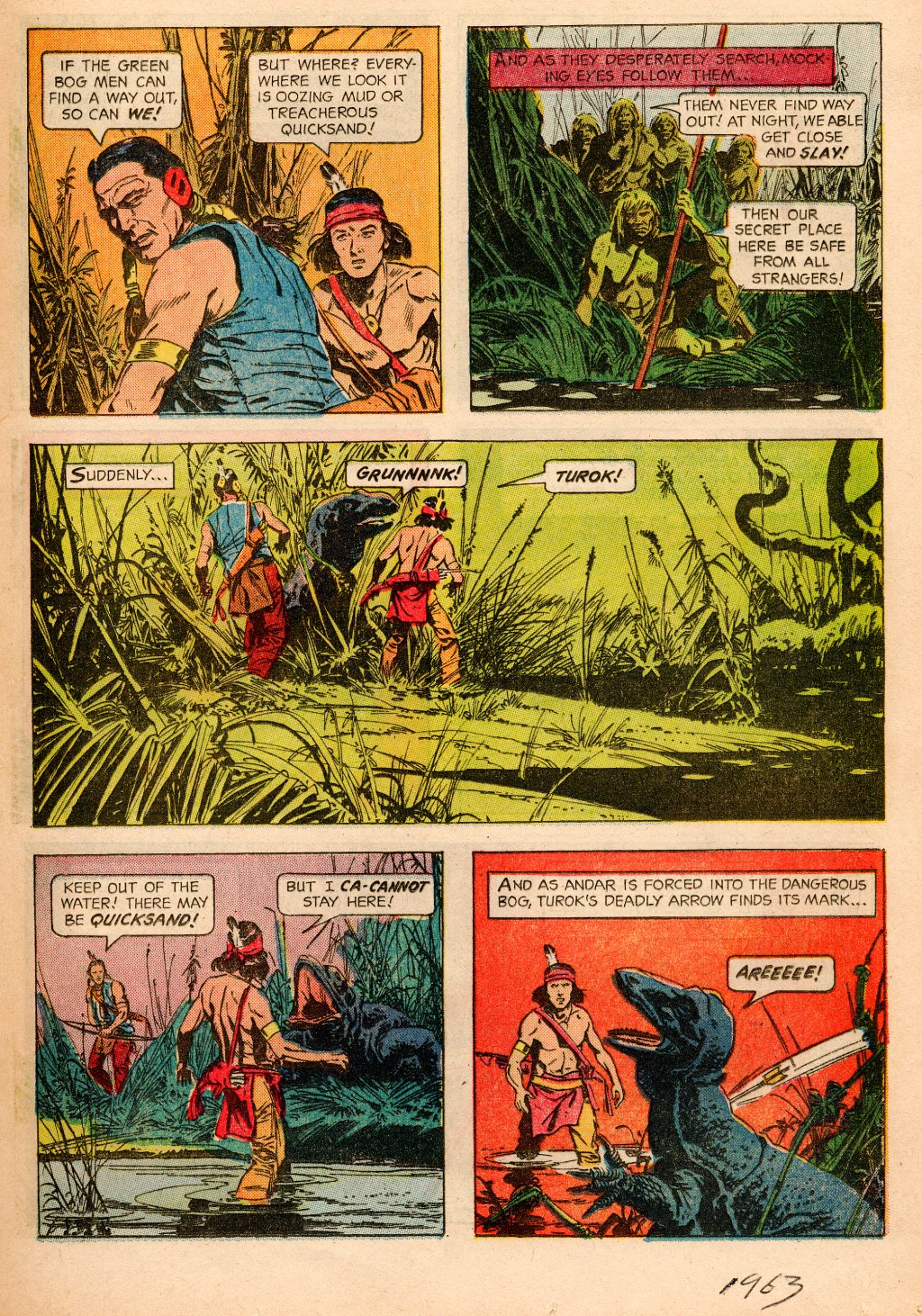 Read online Turok, Son of Stone comic -  Issue #33 - 13