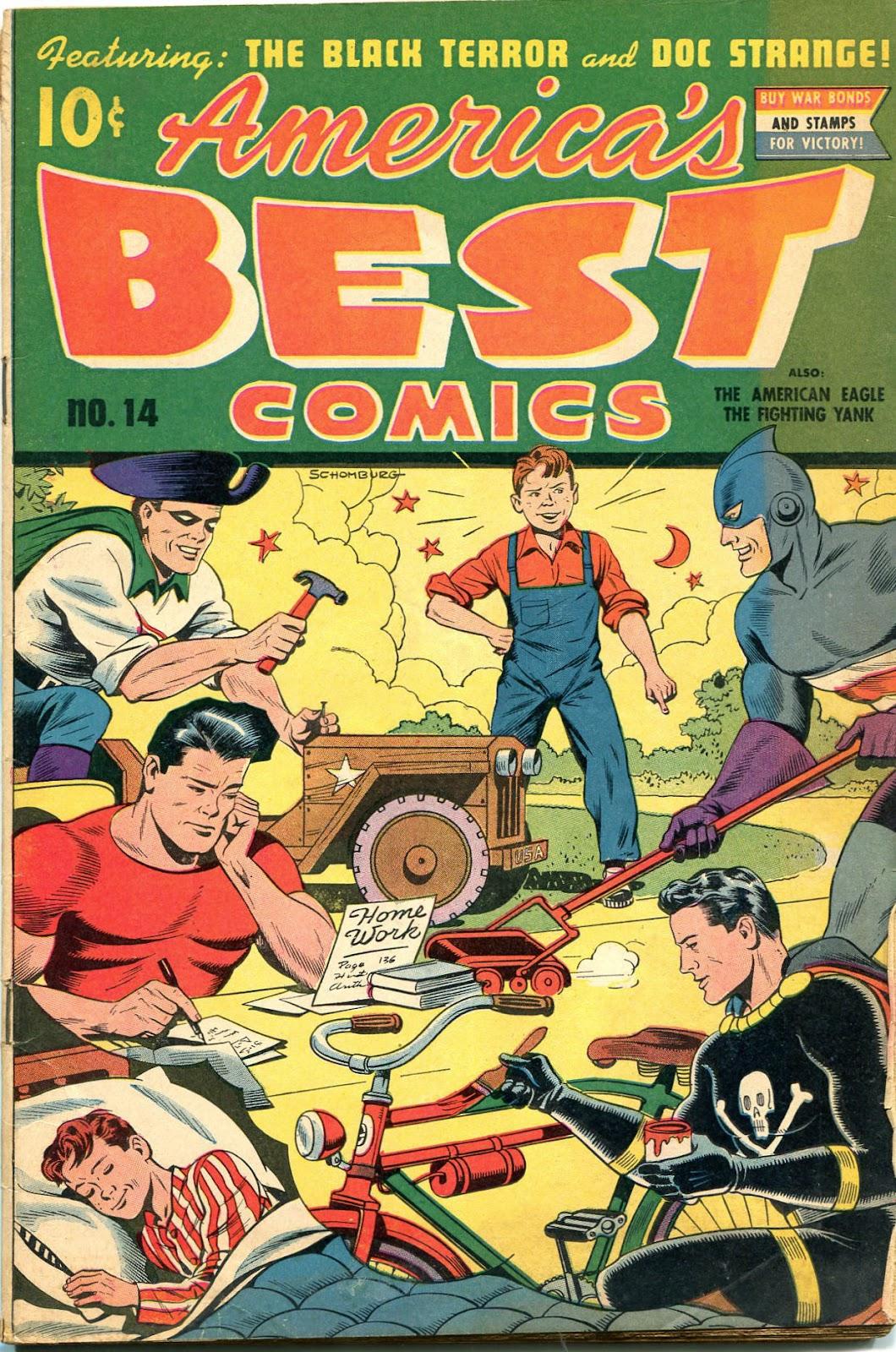 Americas Best Comics 14 Page 1
