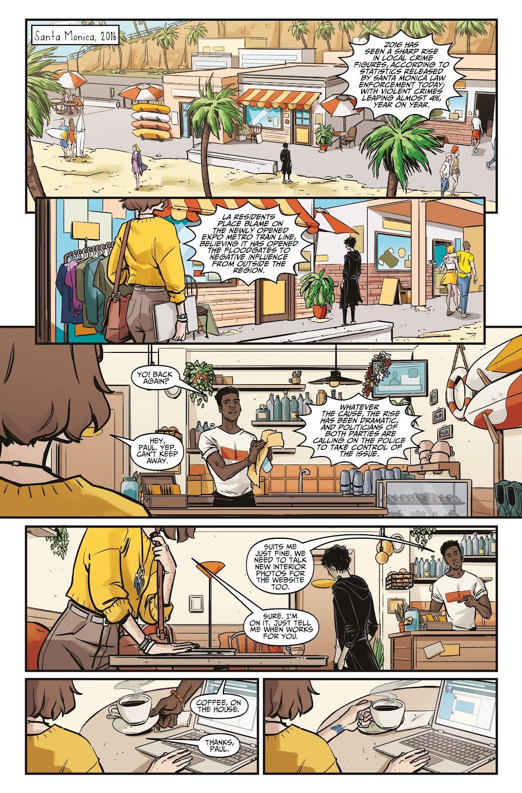 Read online Life is Strange comic -  Issue #5 - 7