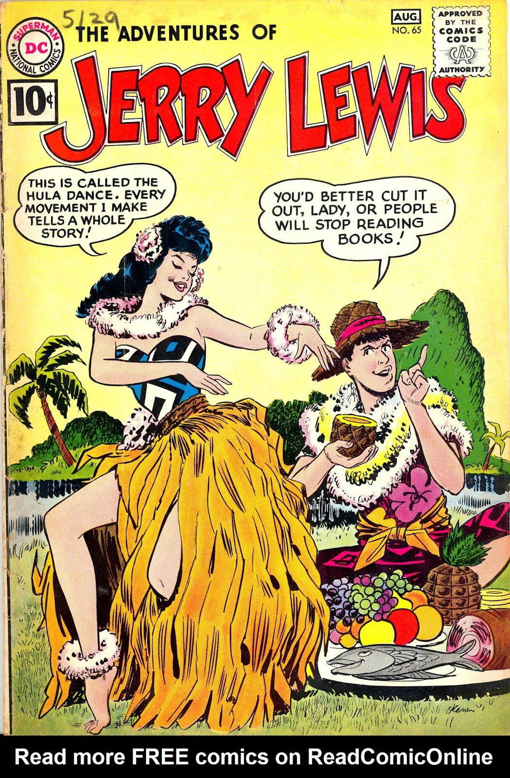 The Adventures of Jerry Lewis 65 Page 1