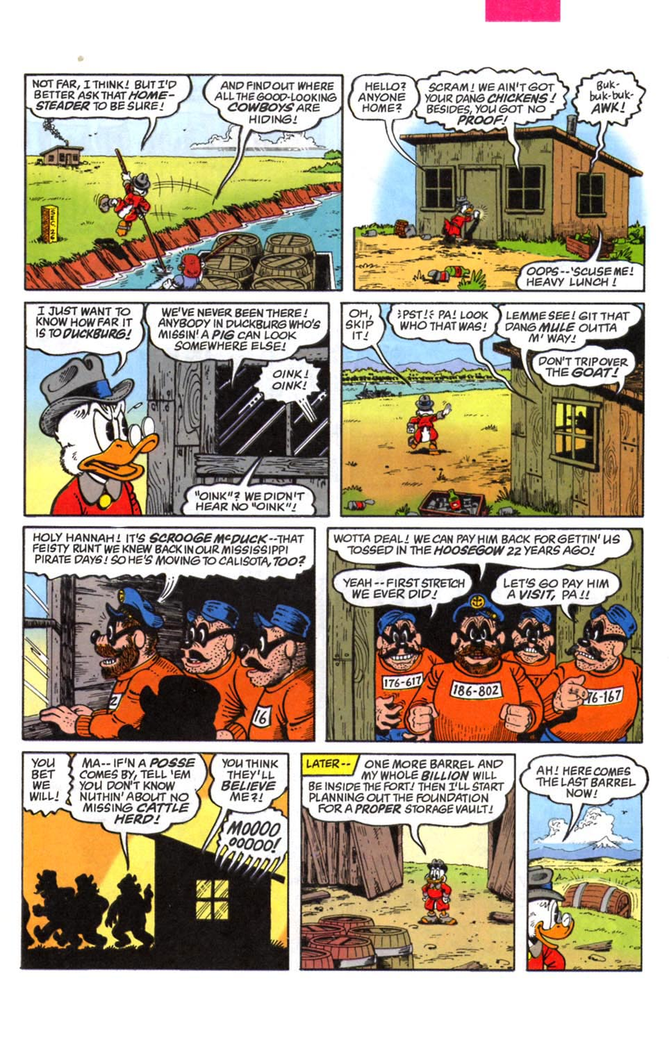 Read online Uncle Scrooge (1953) comic -  Issue #294 - 8