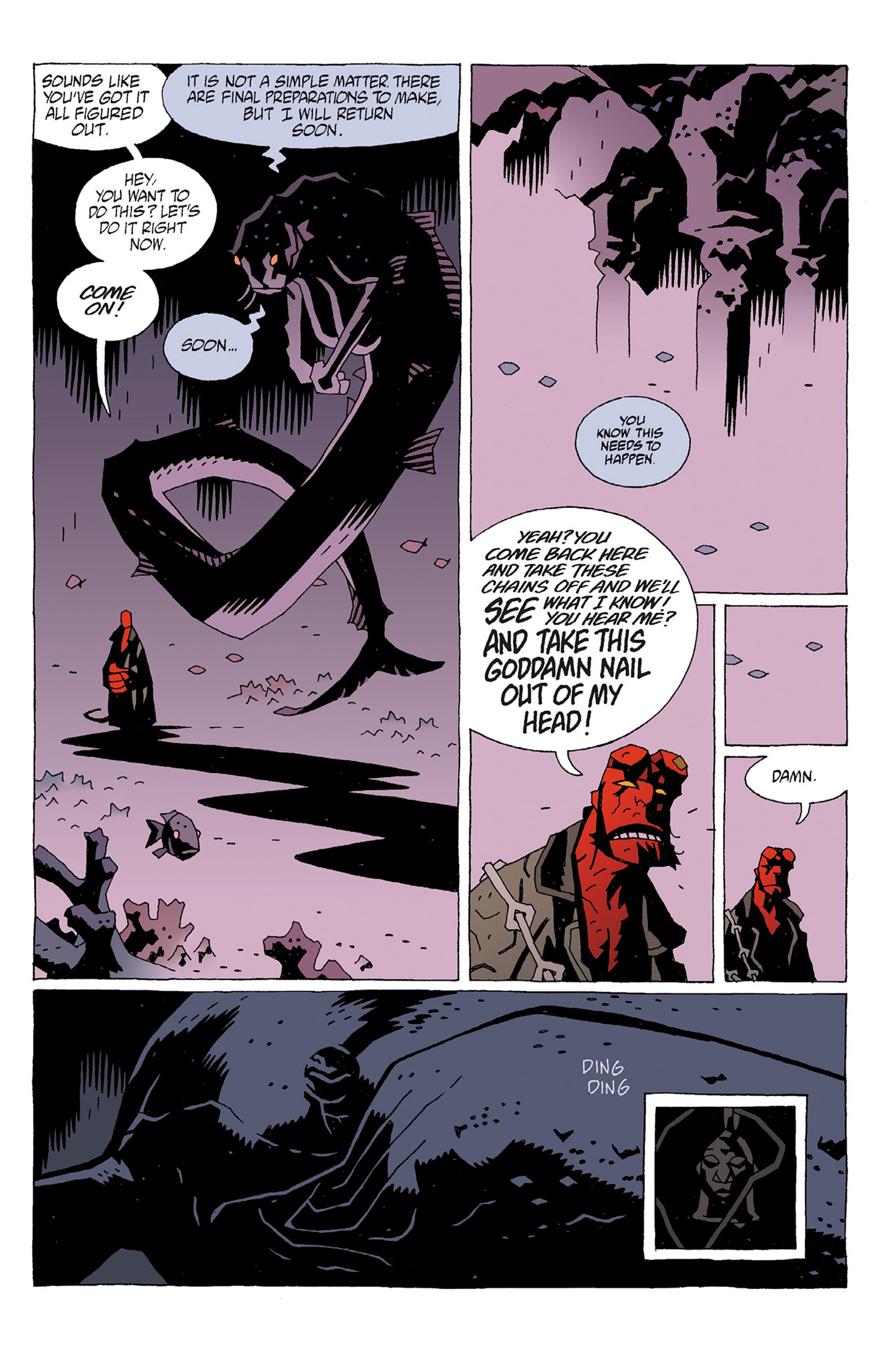 Read online Hellboy: Strange Places comic -  Issue # TPB - 45