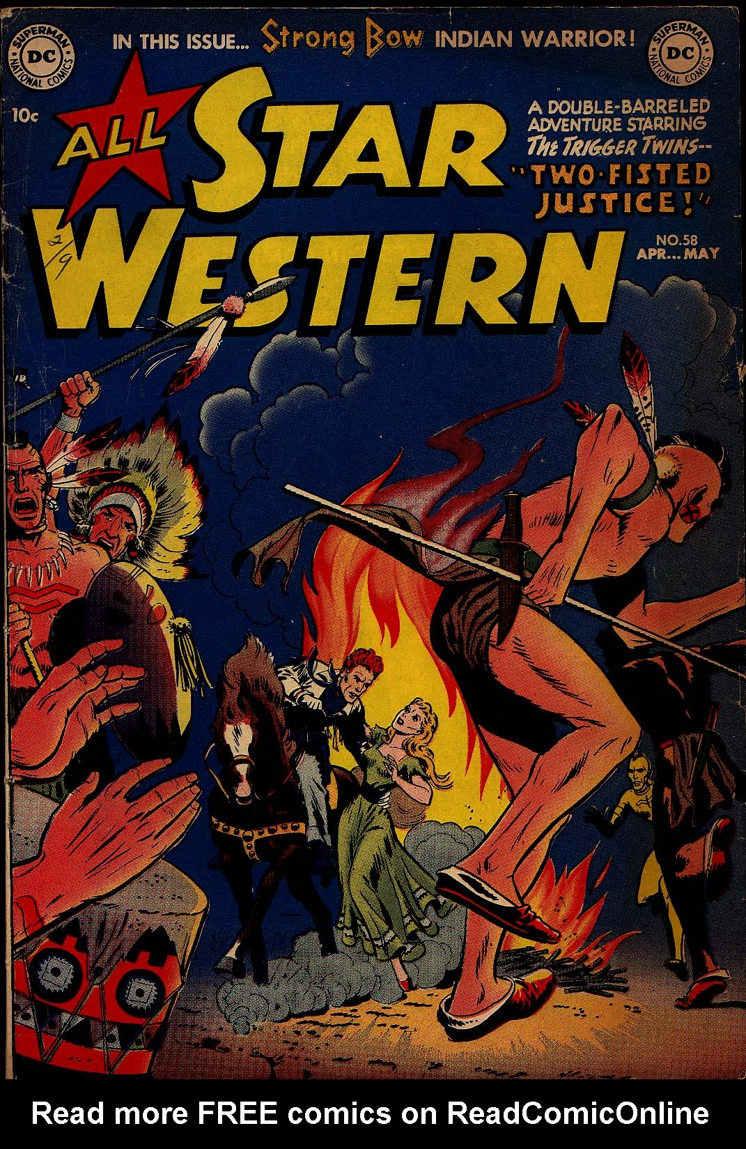 Read online All-Star Western (1951) comic -  Issue #58 - 1