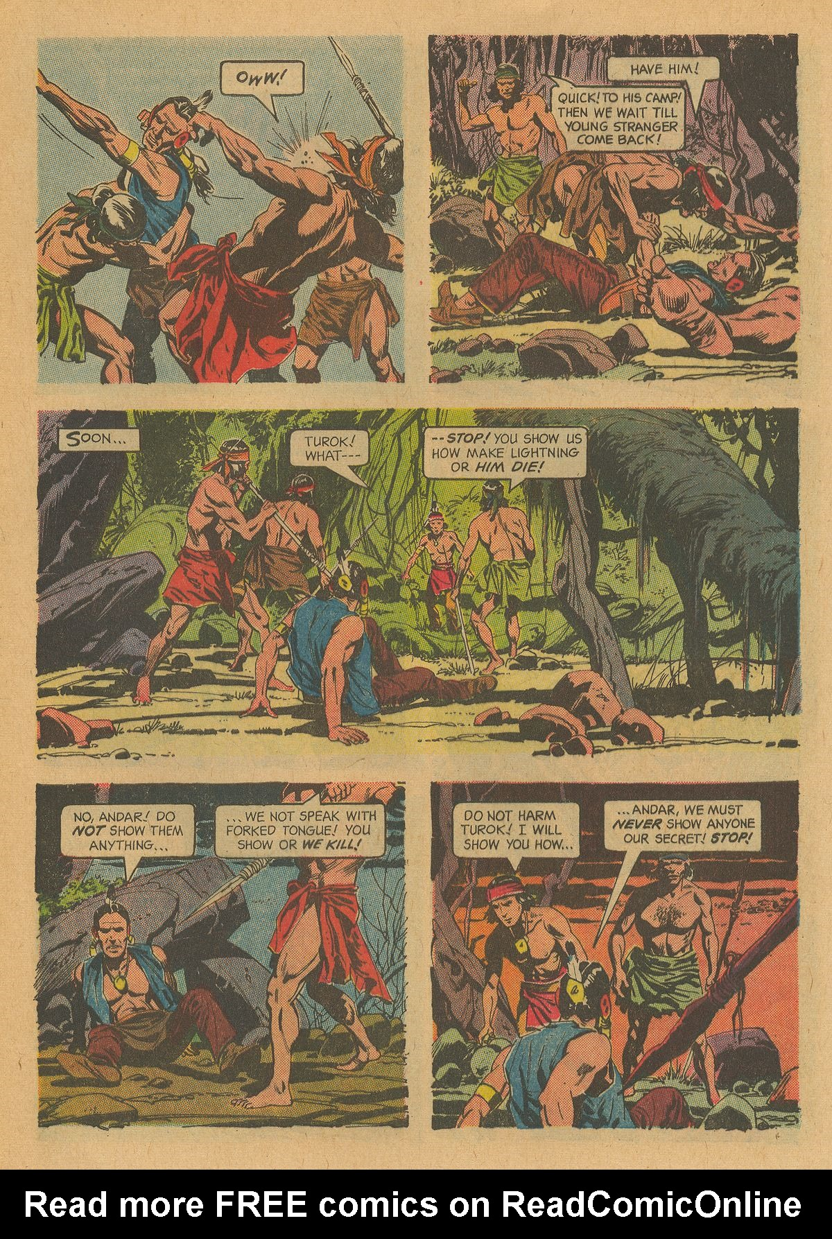 Read online Turok, Son of Stone comic -  Issue #32 - 5