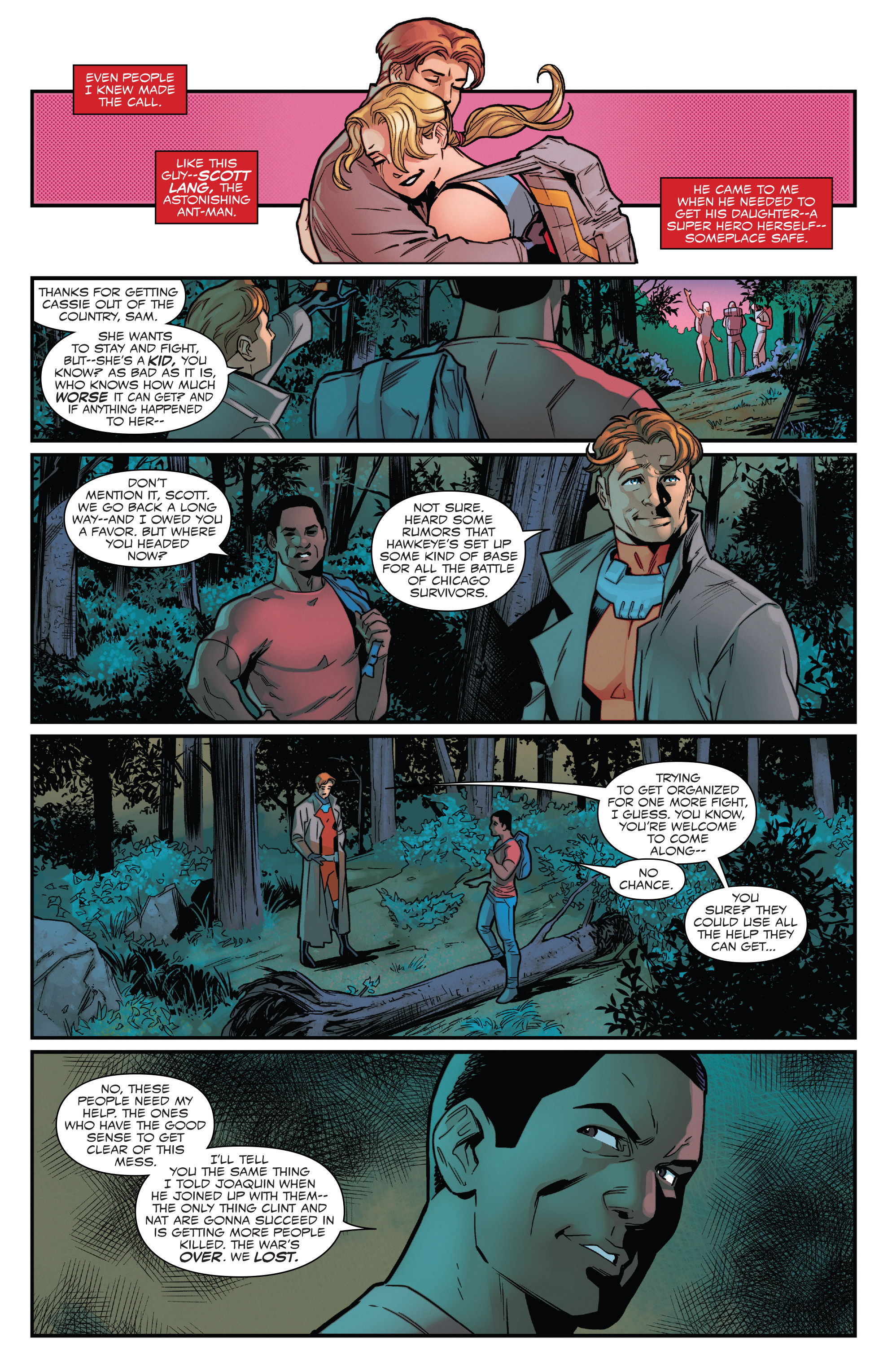 Read online Captain America: Sam Wilson comic -  Issue #22 - 19