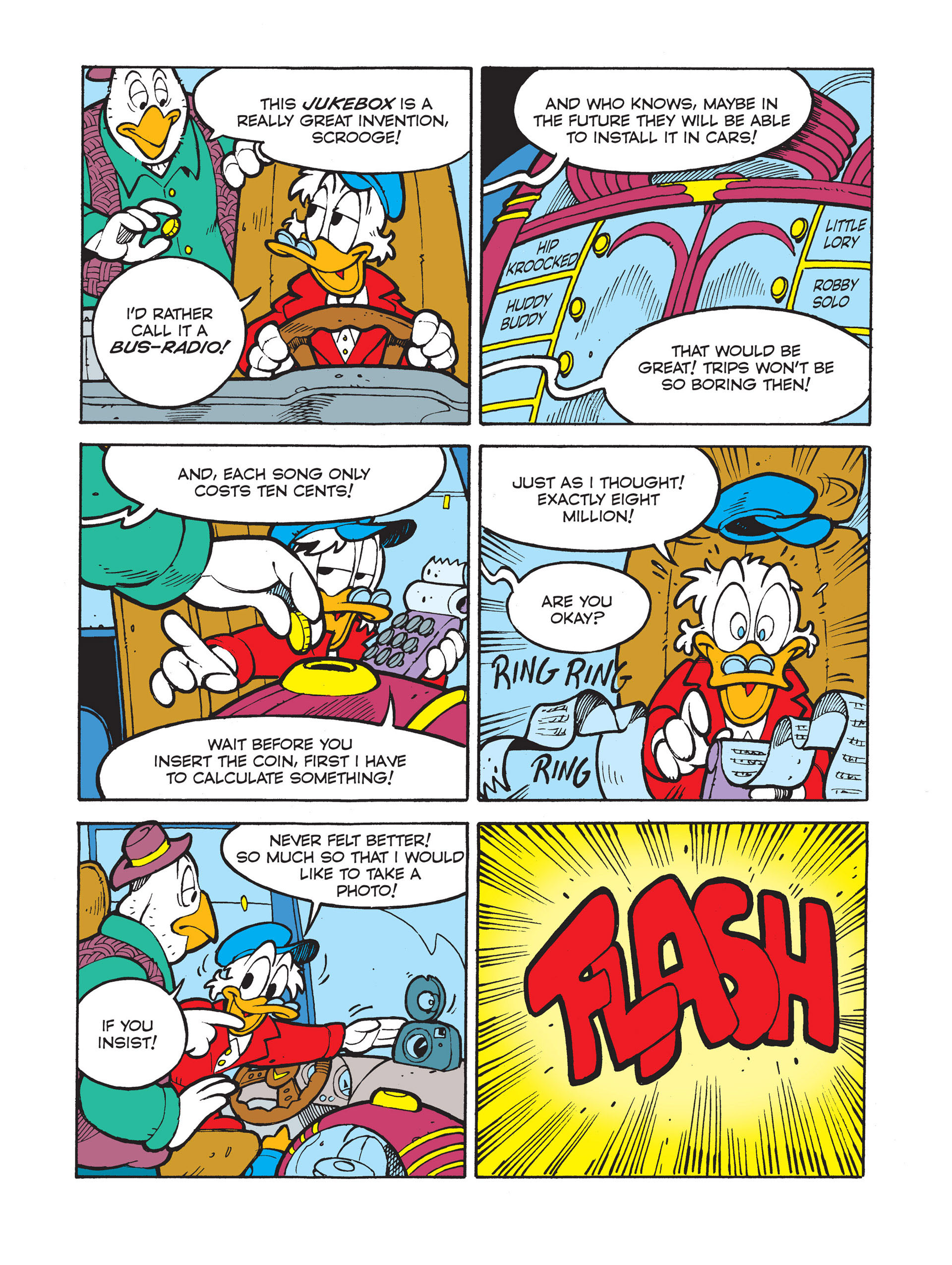Read online All of Scrooge McDuck's Millions comic -  Issue #8 - 28