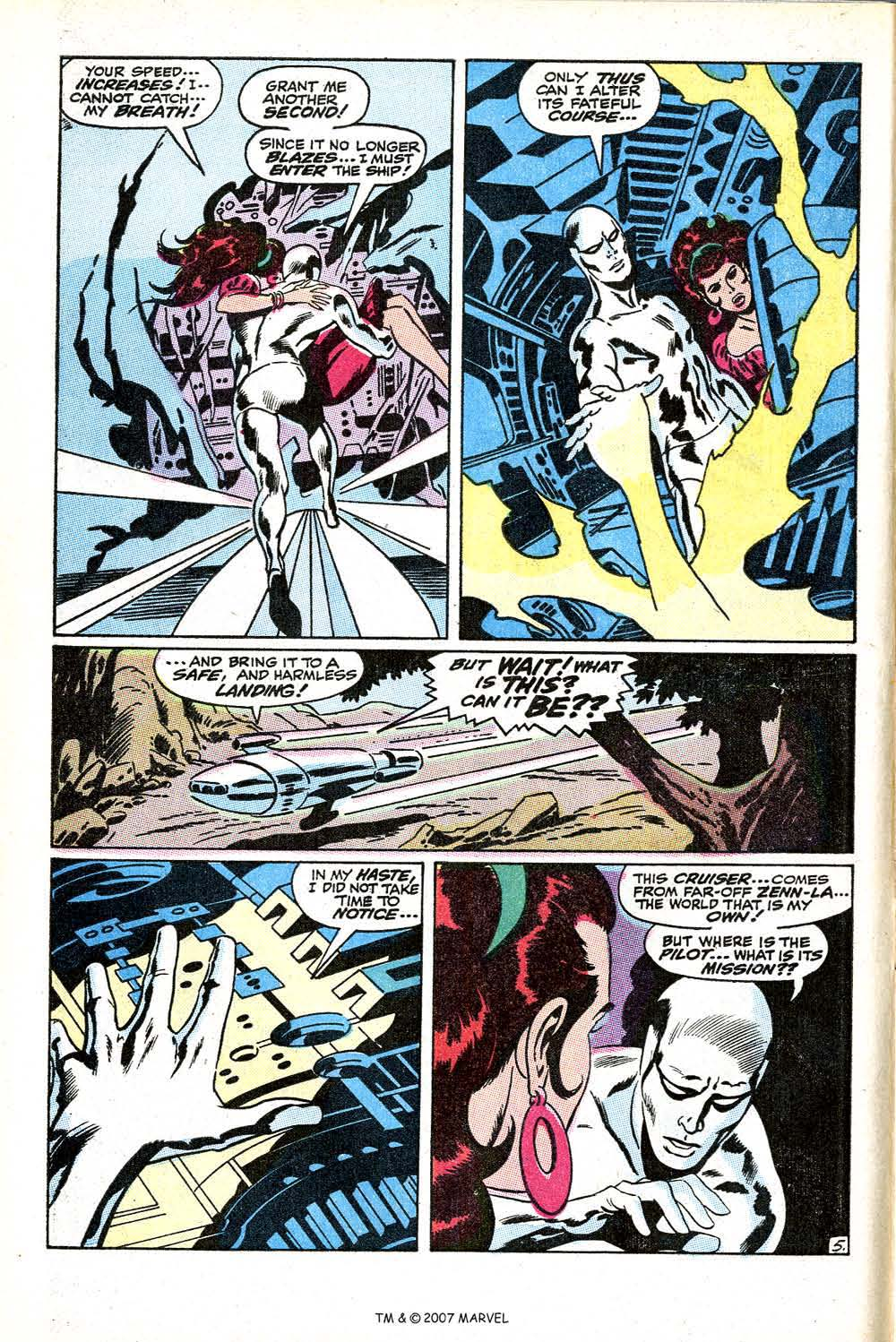 Read online Silver Surfer (1968) comic -  Issue #11 - 8