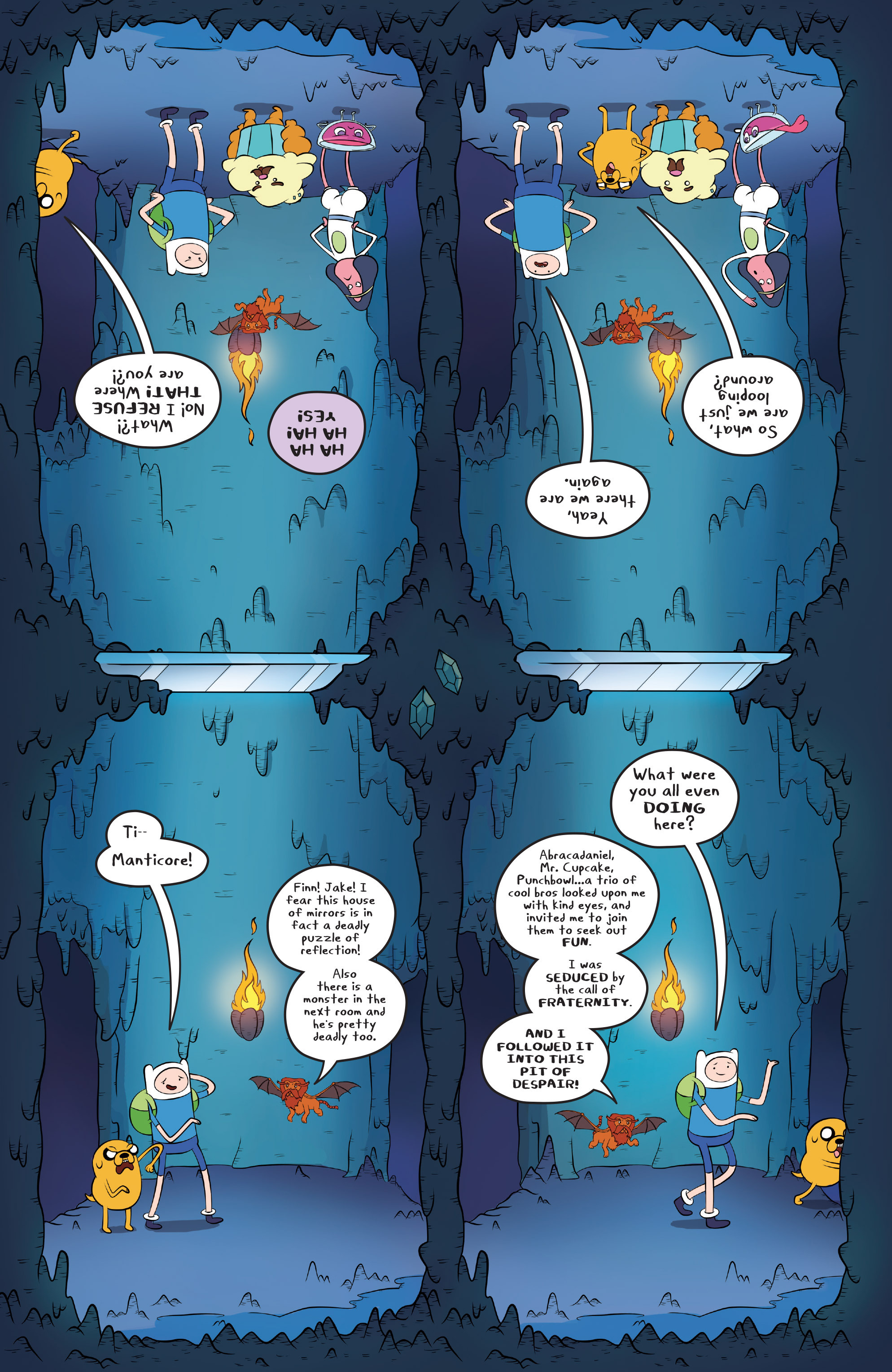 Read online Adventure Time comic -  Issue #45 - 12