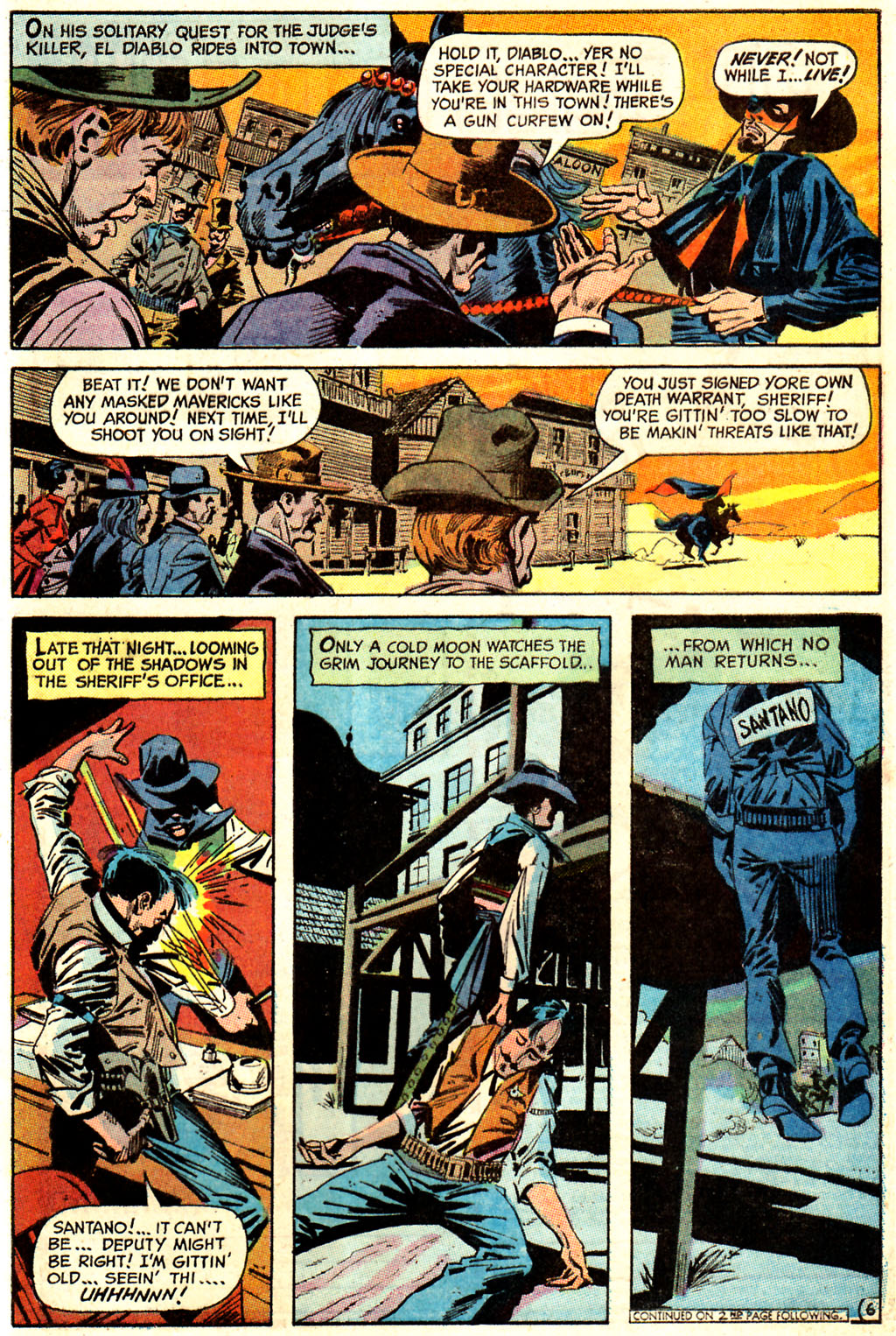 Read online All-Star Western (1970) comic -  Issue #7 - 43