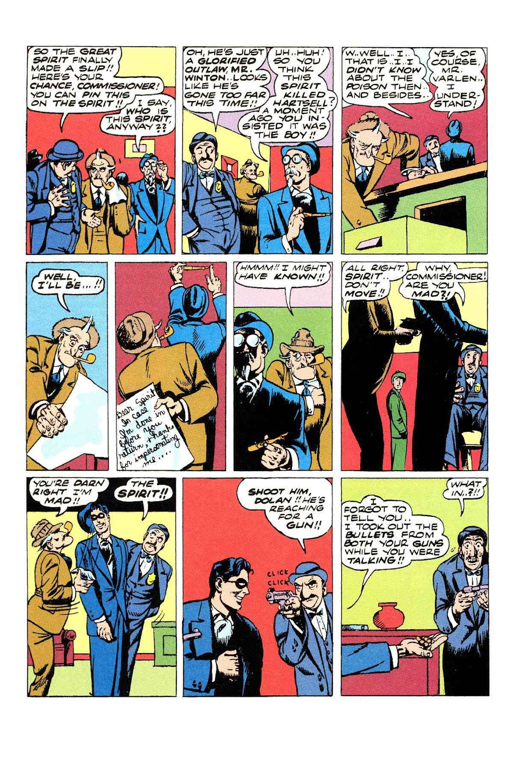 Read online Will Eisner's The Spirit Archives comic -  Issue # TPB 3 (Part 1) - 69