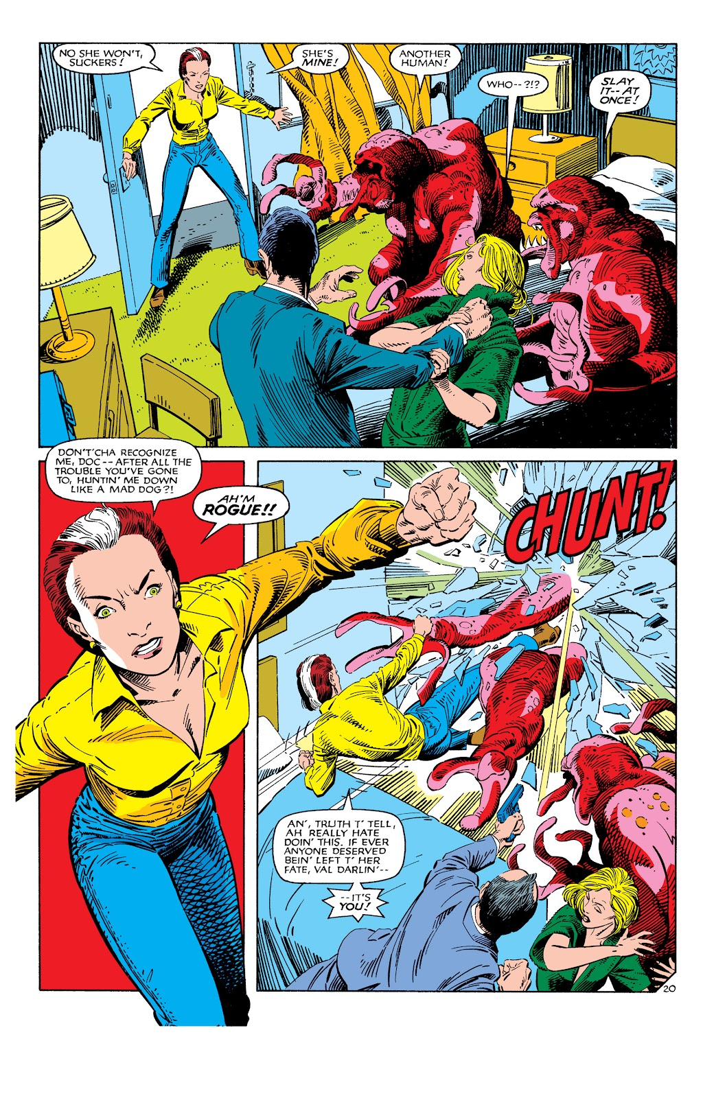 Uncanny X-Men (1963) issue 186 - Page 21