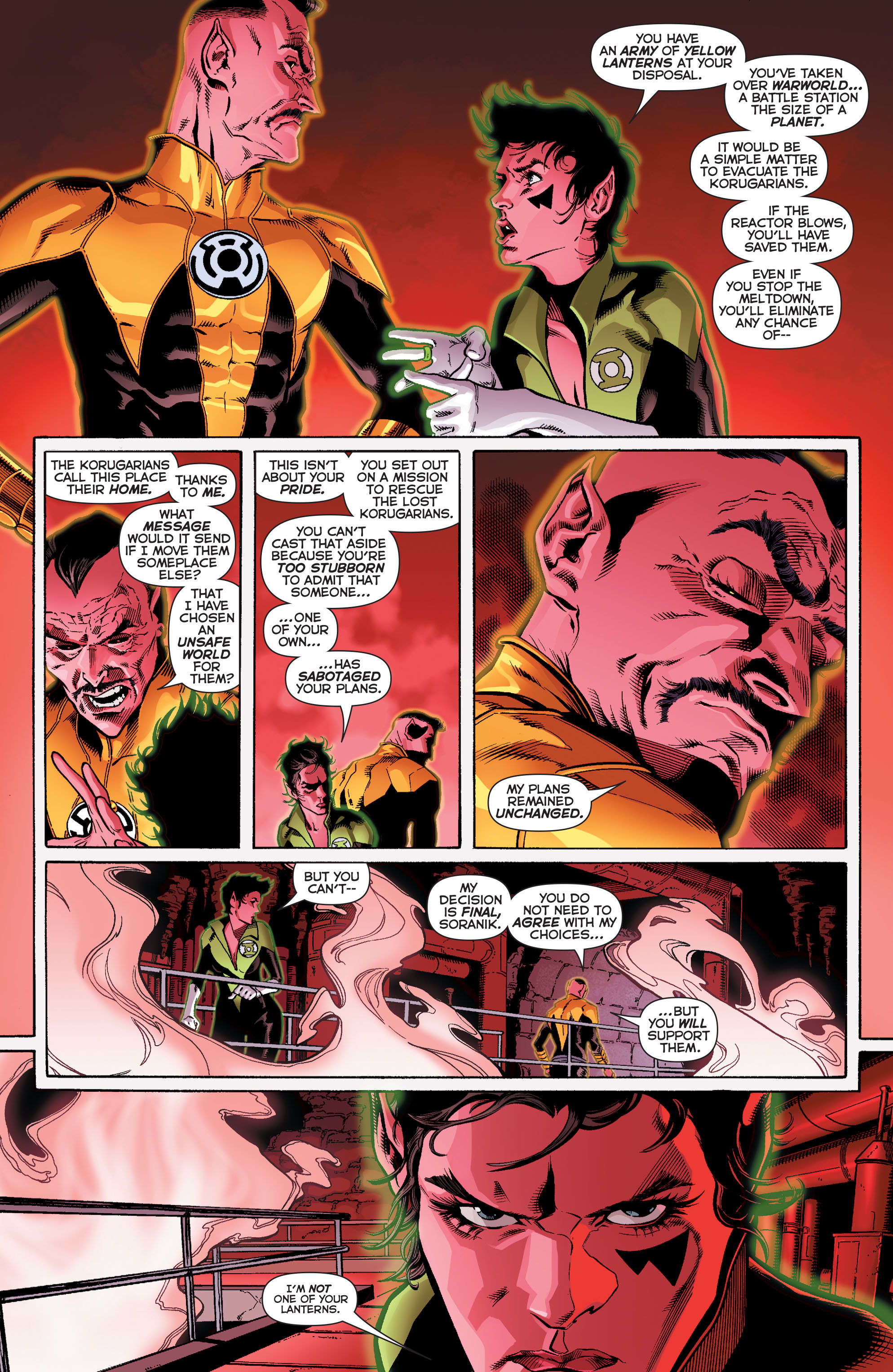 Read online Sinestro comic -  Issue #12 - 6