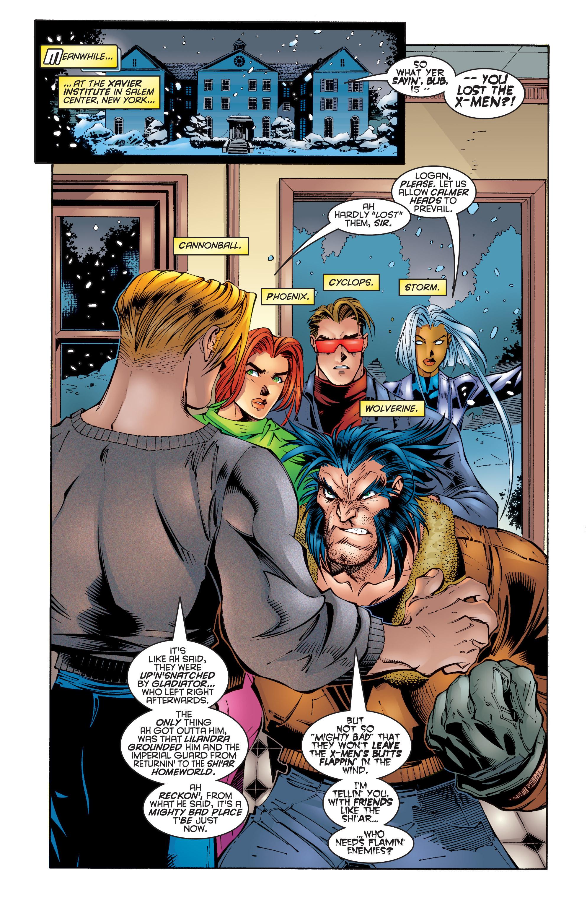 Read online Uncanny X-Men (1963) comic -  Issue #342 - 10