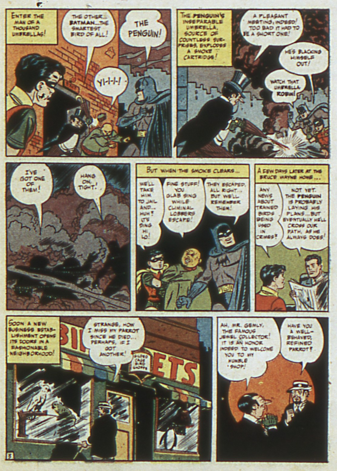 Read online Detective Comics (1937) comic -  Issue #67 - 5