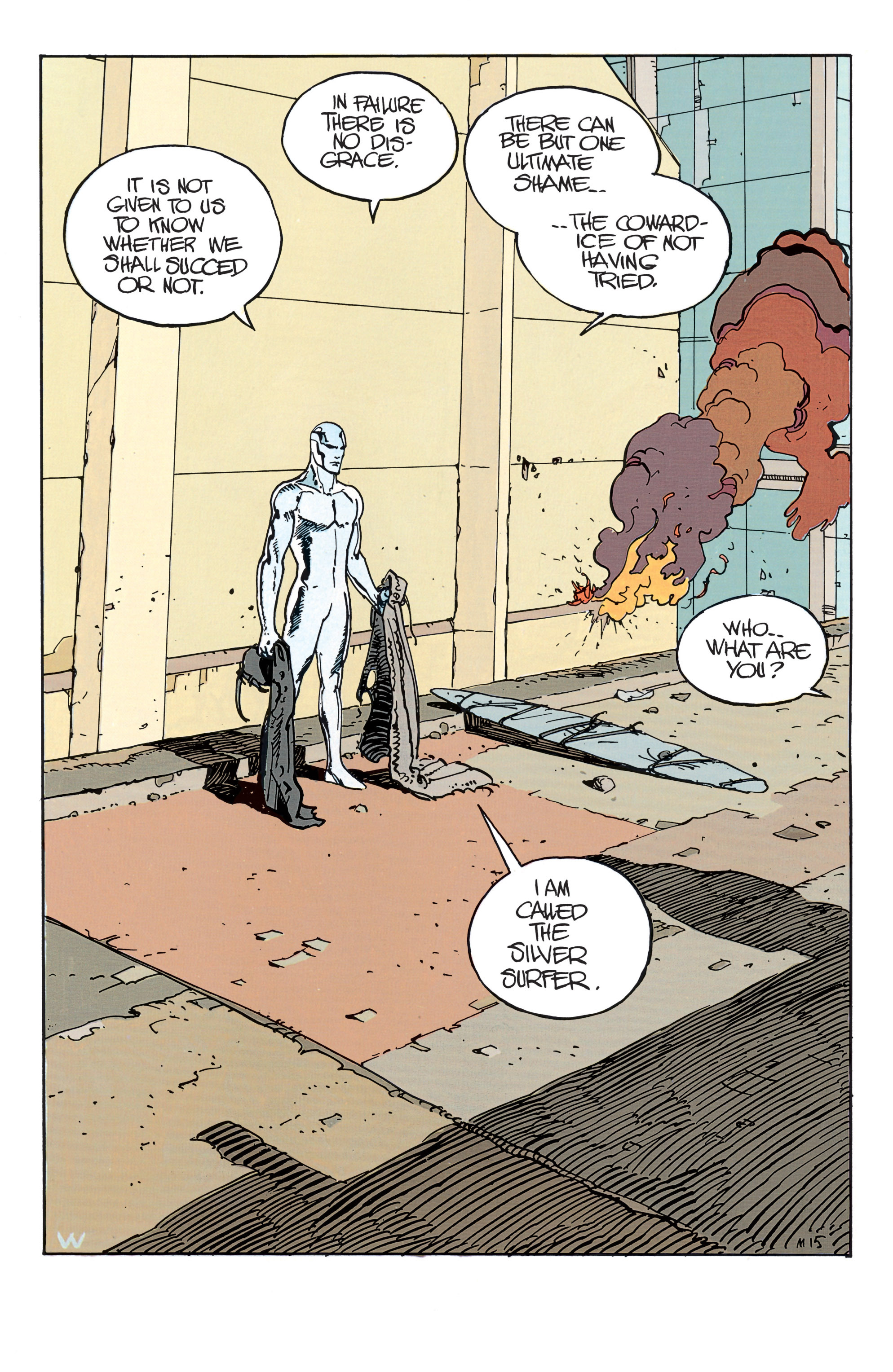 Read online Silver Surfer: Parable comic -  Issue # TPB - 20