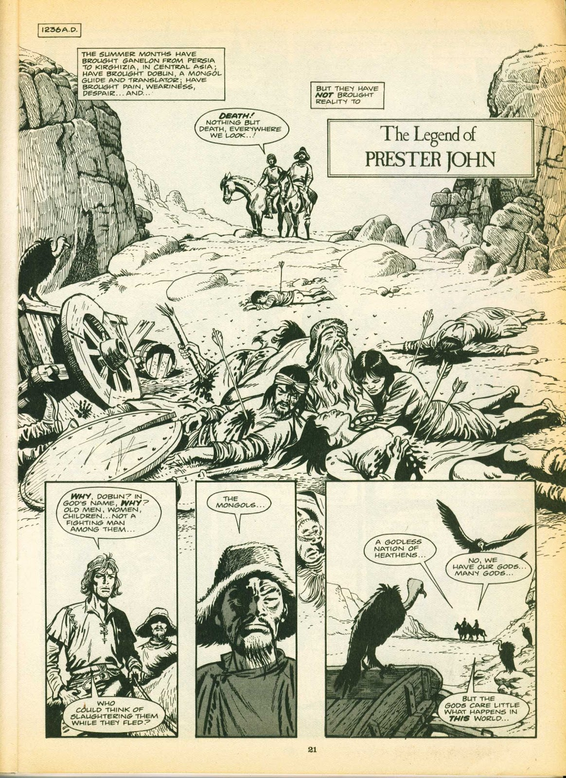 Warrior Issue #12 #13 - English 21