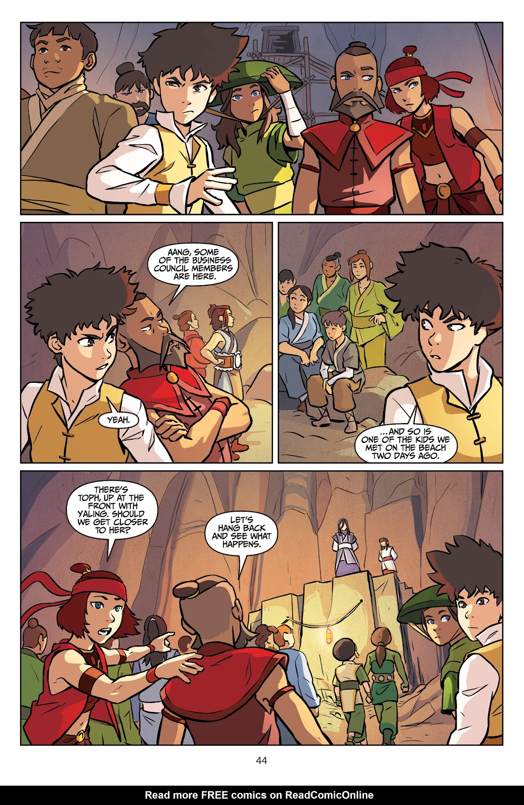 Read online Nickelodeon Avatar: The Last Airbender - Imbalance comic -  Issue # TPB 2 - 45
