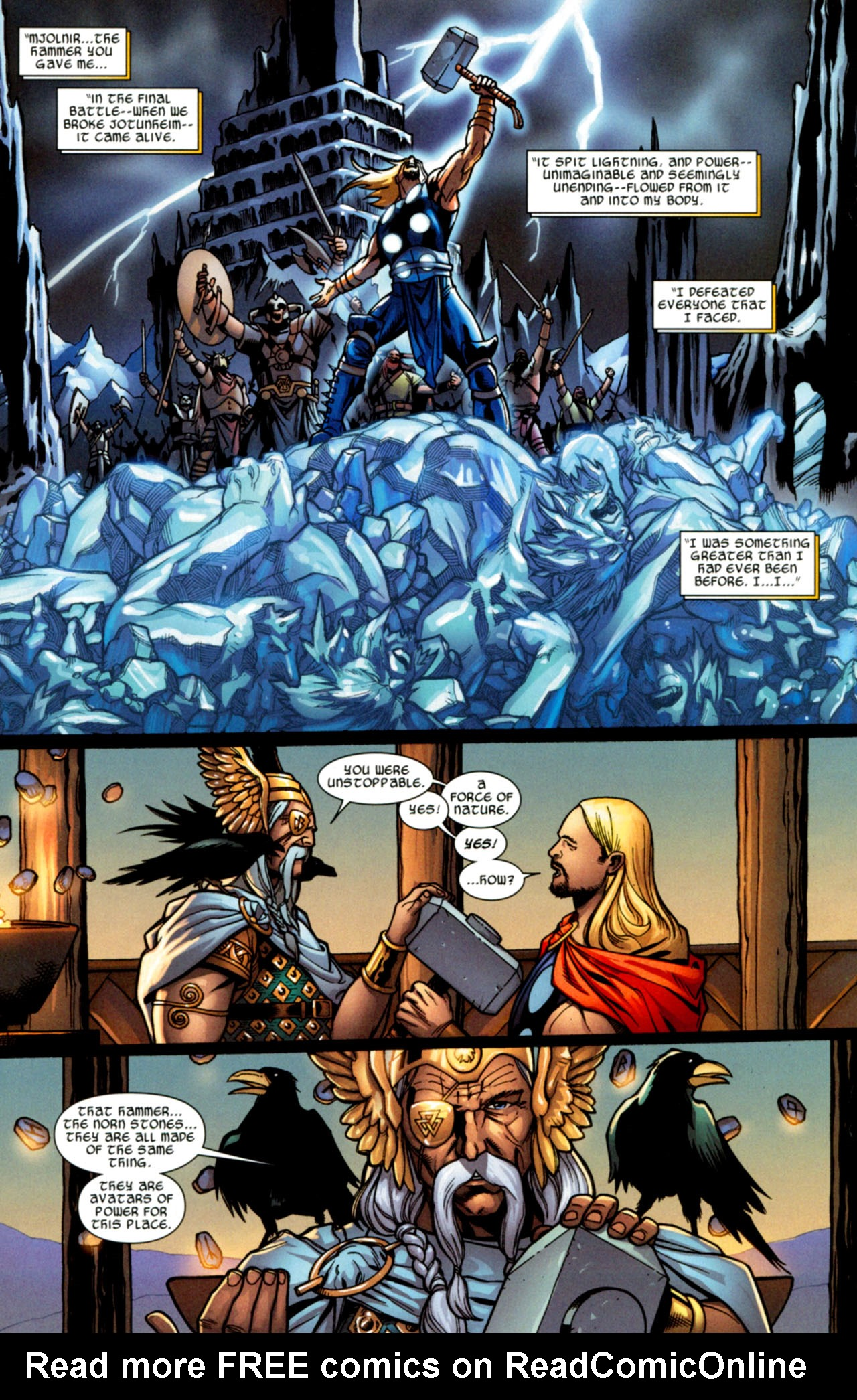 Read online Ultimate Thor comic -  Issue #2 - 15