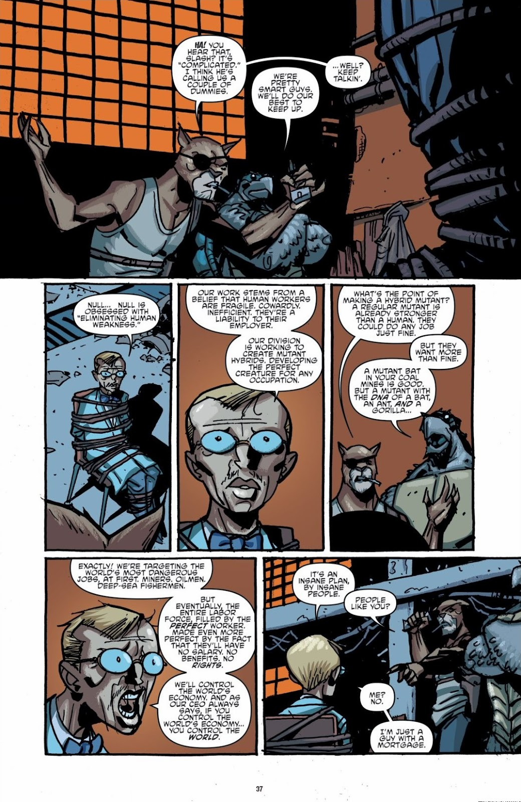Read online Teenage Mutant Ninja Turtles: The IDW Collection comic -  Issue # TPB 6 (Part 1) - 36