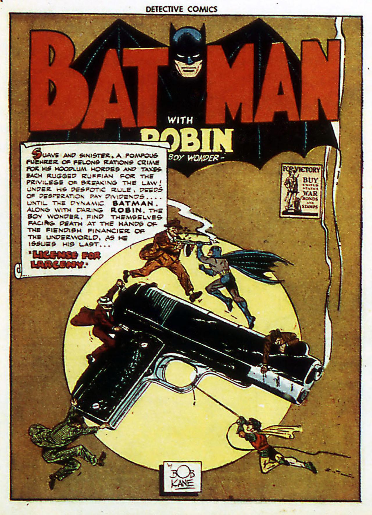 Read online Detective Comics (1937) comic -  Issue #72 - 4