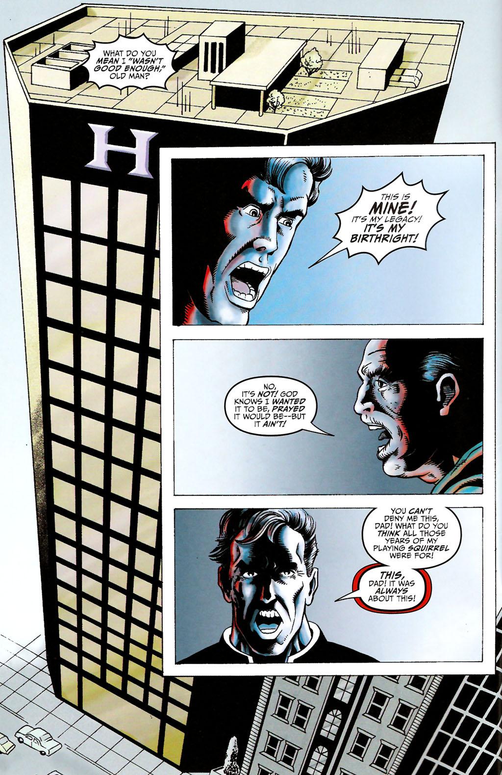 Read online ShadowHawk (2005) comic -  Issue #11 - 4