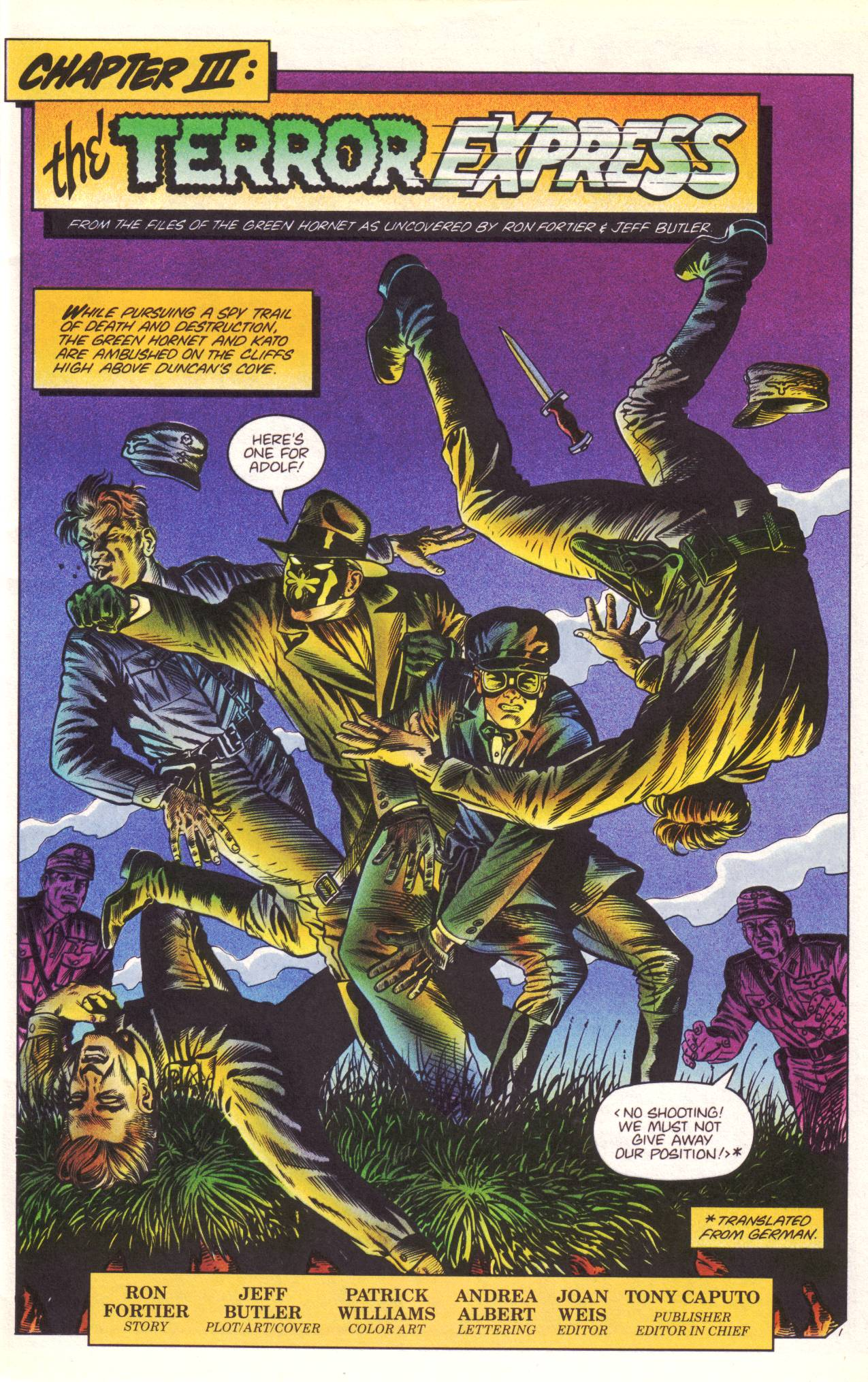 Read online Sting of The Green Hornet comic -  Issue #3 - 2