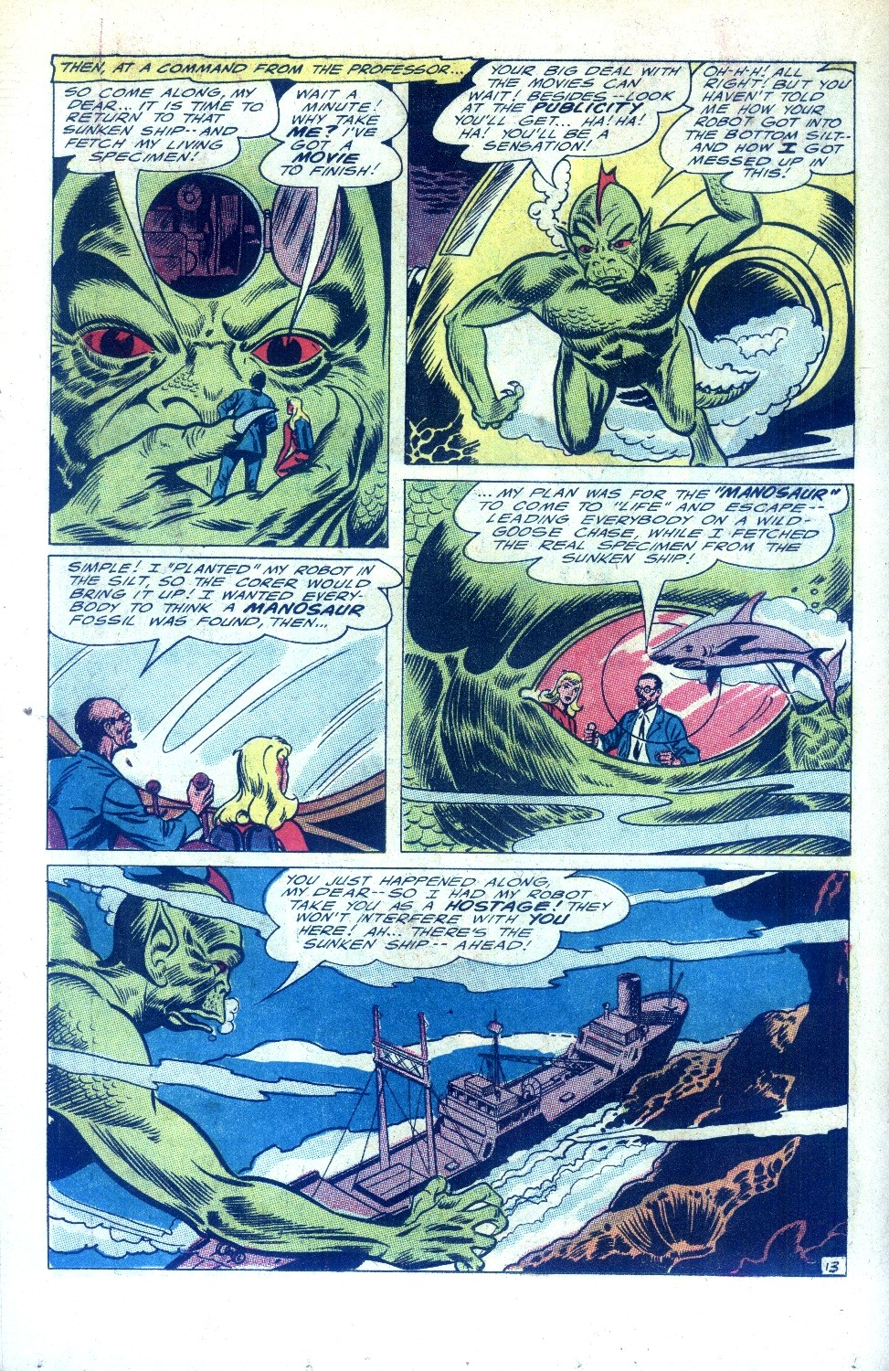 Read online Sea Devils comic -  Issue #28 - 19